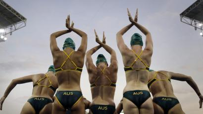 Solo synchronized swimming used to be an Olympic event.