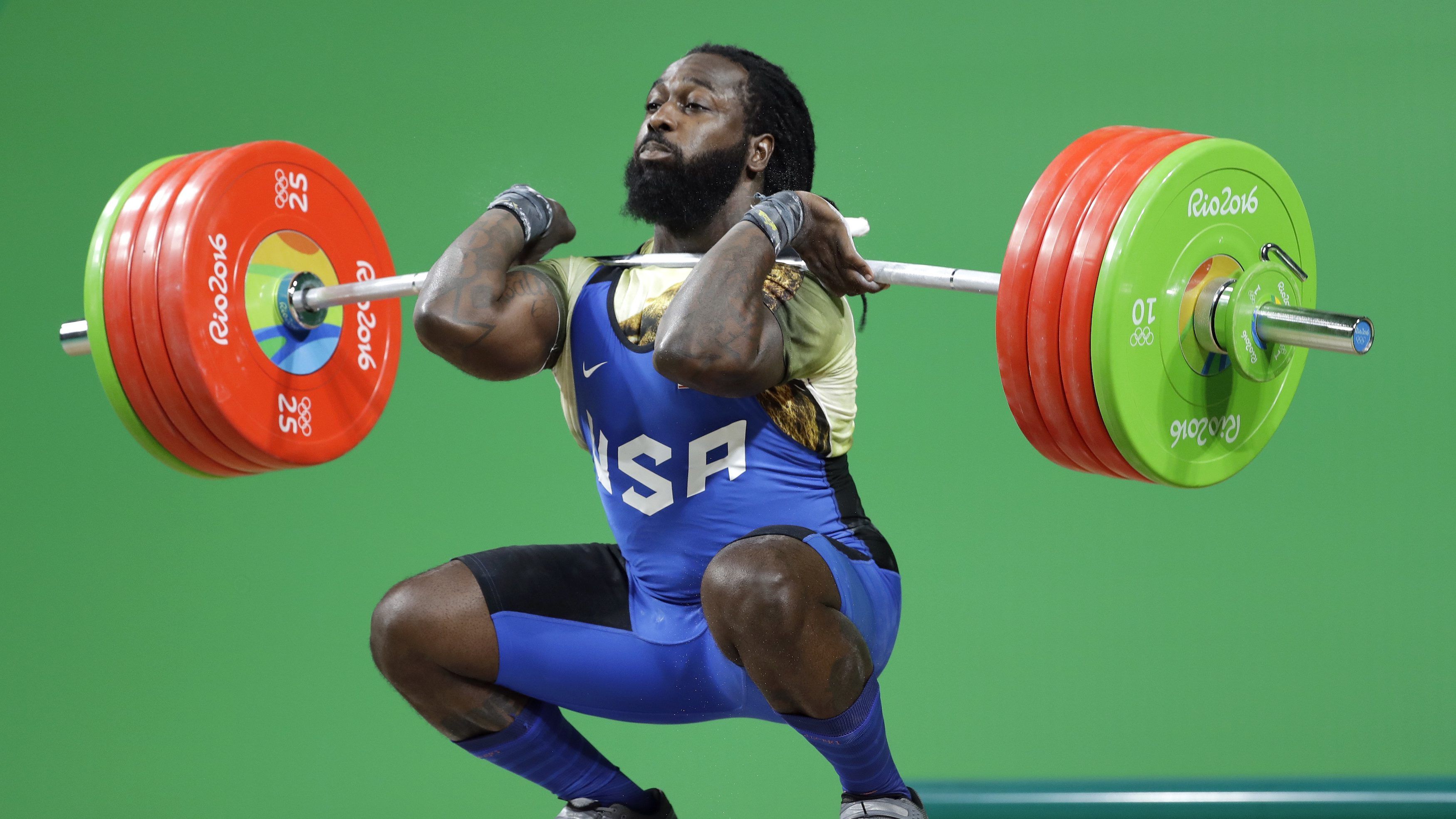 Rio 2016 Olympics Kendrick Farris The Only American Male Weightlifter To Compete At The Rio Olympics Is Vegan Quartz