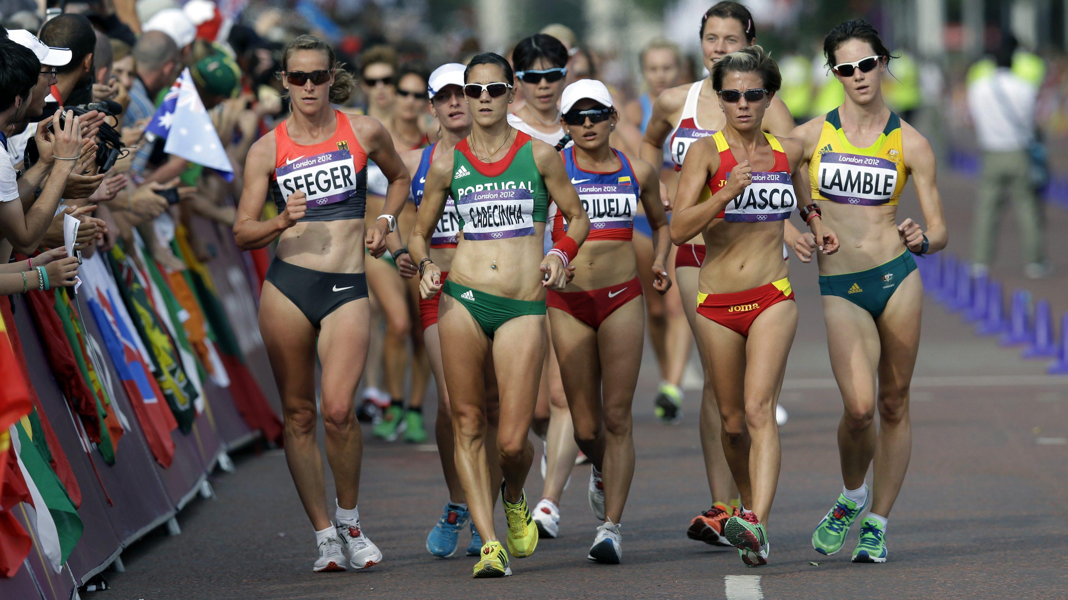 Race walkers