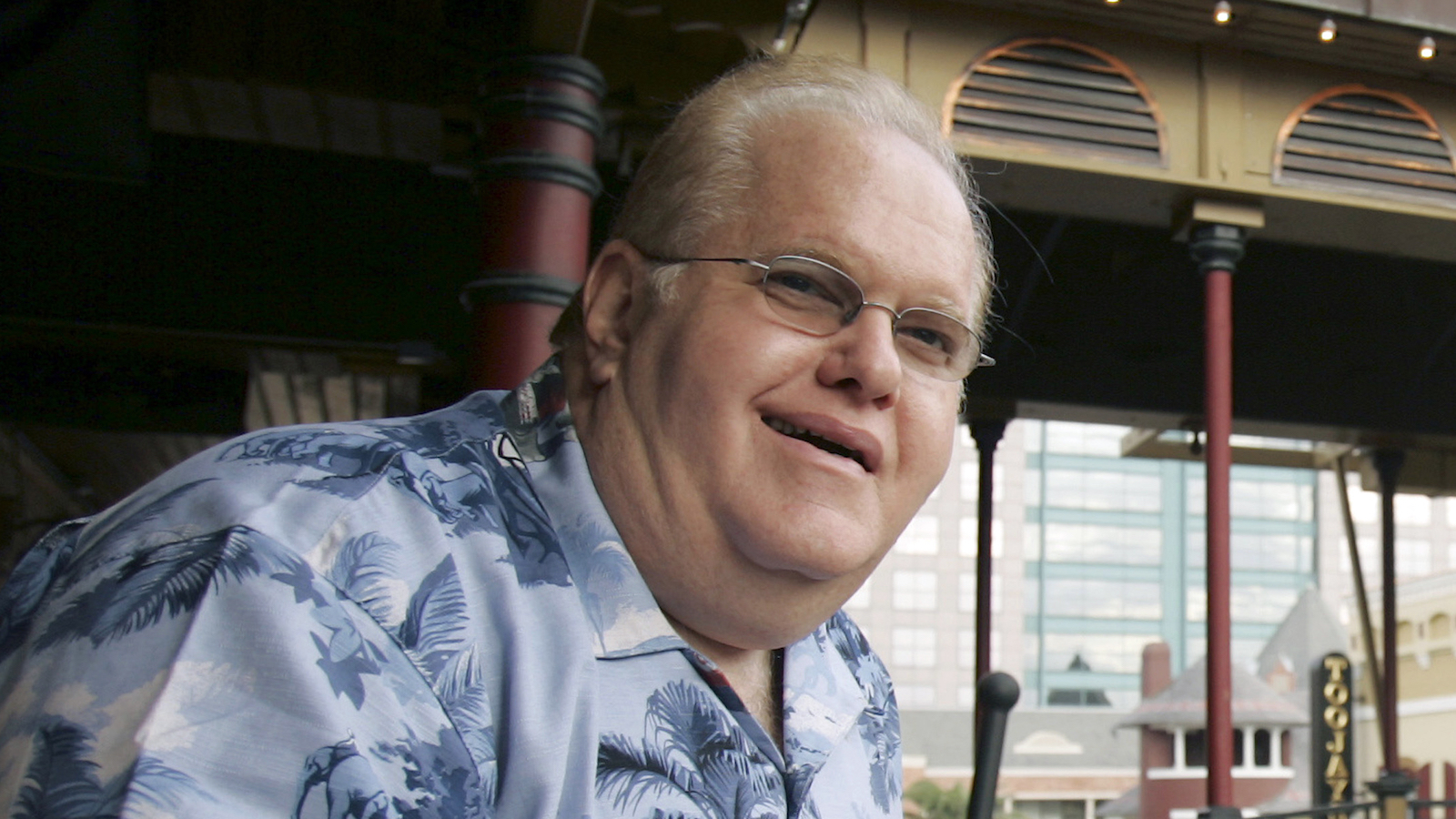 **FILE** Lou Pearlman poses outside his office's at Church Street Station in Orlando, Fla., in this  Oct. 27, 2006 file photo.   The creator of the Backstreet Boys and 'N Sync was indicted Wednesday, June, 27, 2007 by a federal grand jury on charges he defrauded a bank out of $20 million dollars. (AP Photo/John Raoux, FILE)
