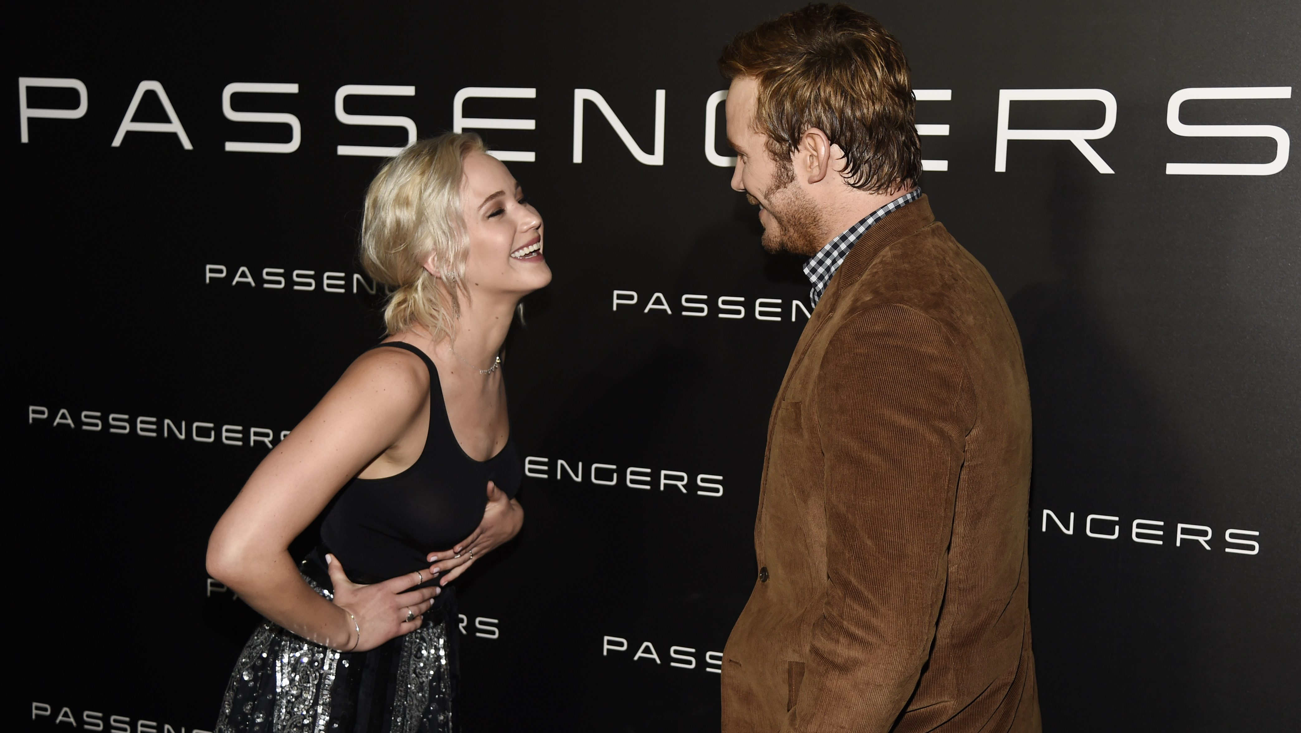 Passengers movie Jennifer Lawrence, Chris Pratt