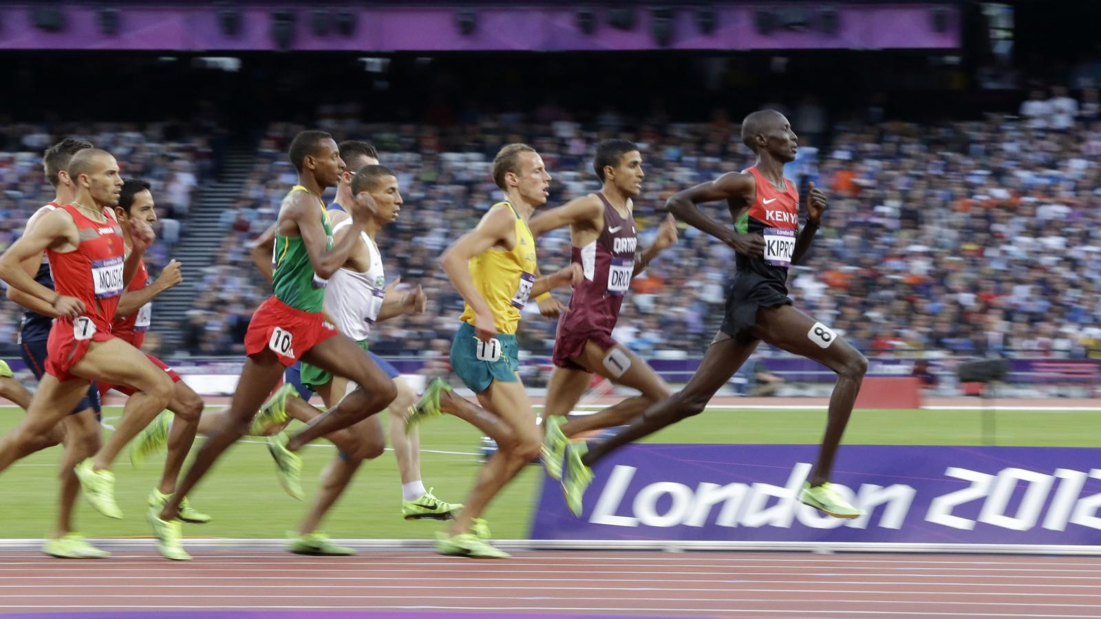 Rio Olympics 2016: Why do the track athletes run the 1500 meters instead of  the mile? — Quartz