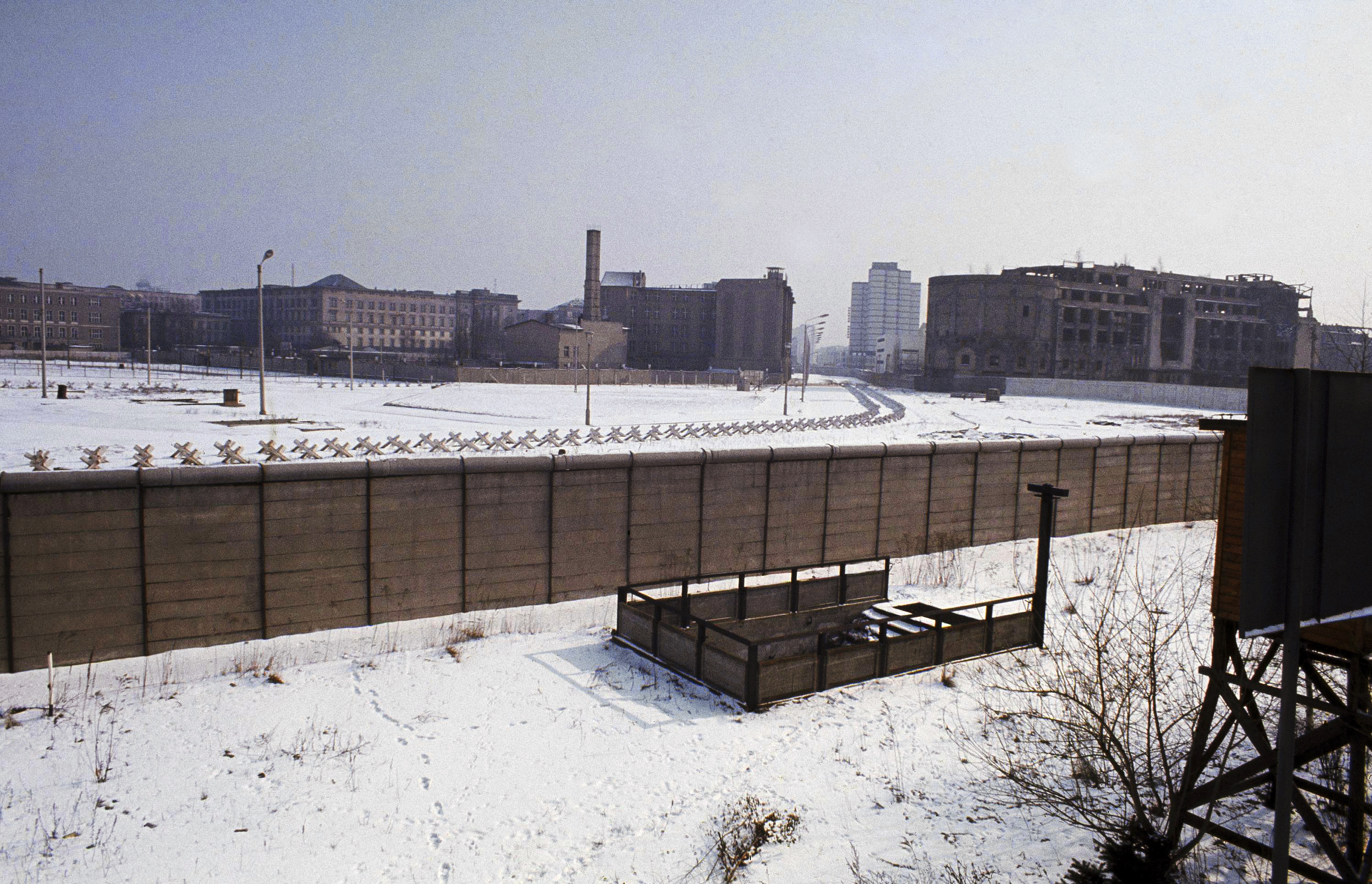 55th anniversary of Berlin Wall construction