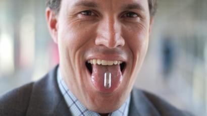 Christopher Bettinger is developing an edible battery made with melanin and dissolvable materials.