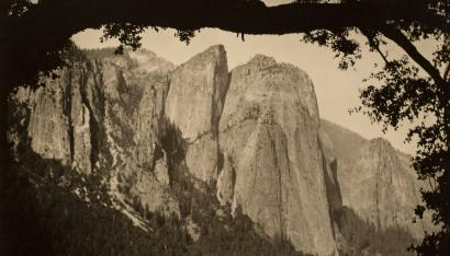 The Three Brothers, Yosemite, 1911
