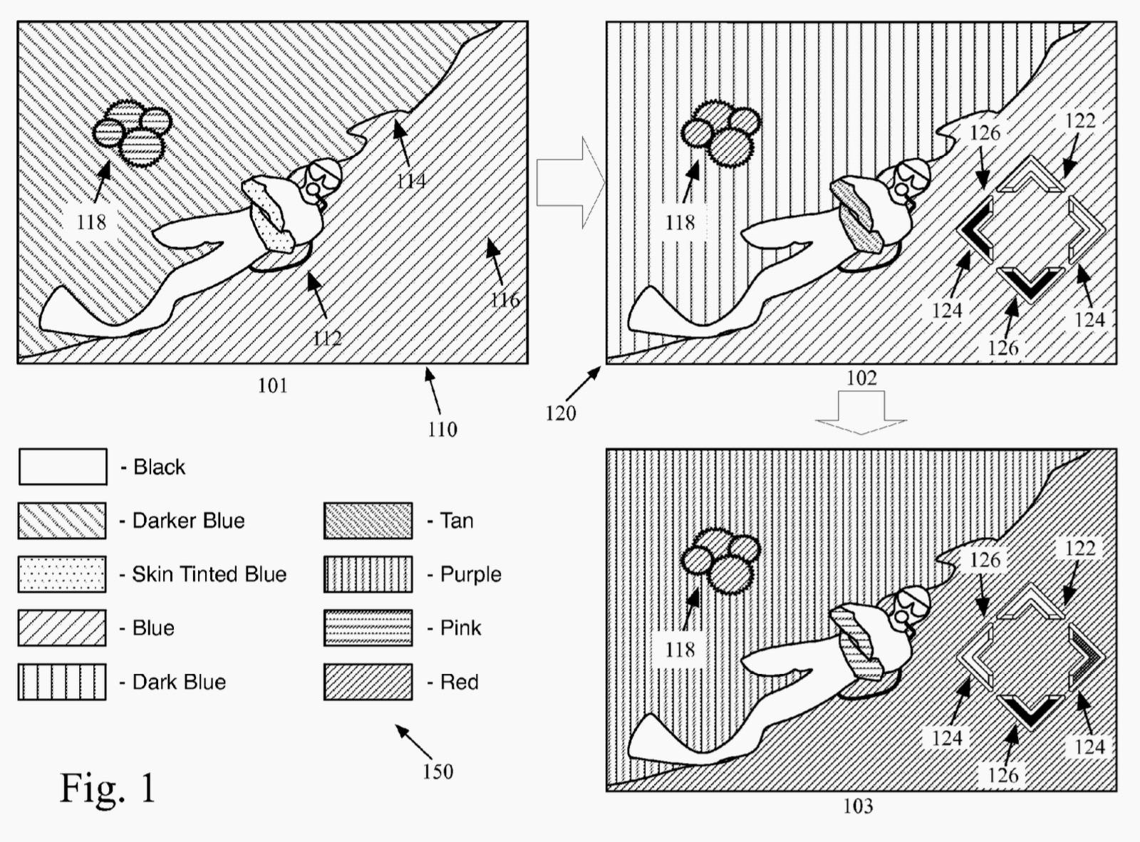 Apple iPhone underwater patent