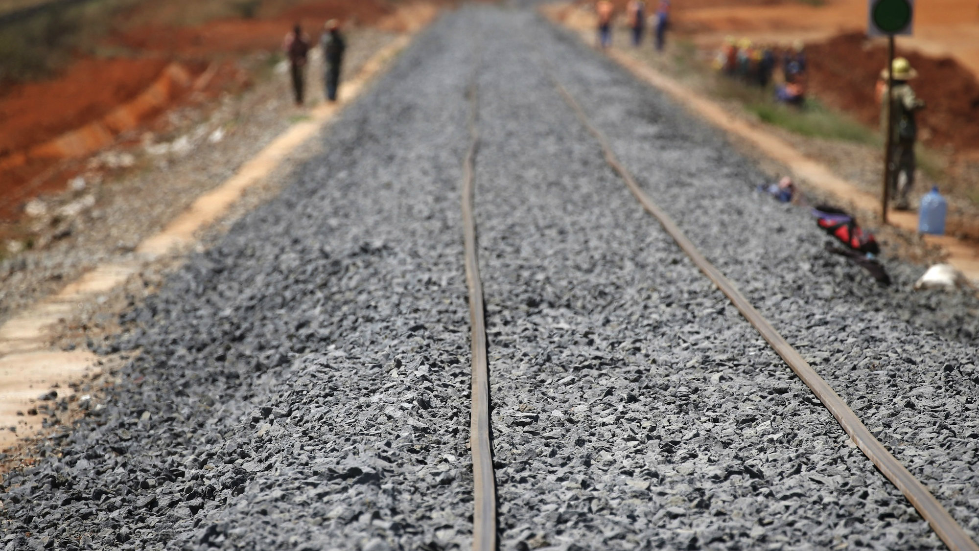 Kenyan rail workers are protesting against China Road and