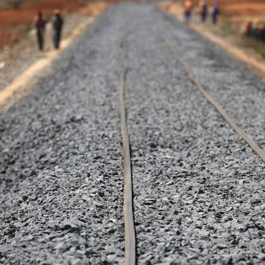 Kenyan rail workers are protesting against China Road and Bridge