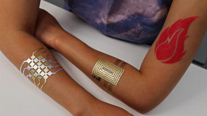 4b5fde39acc90 MIT and Microsoft (MSFT) designed a smart tattoo that can turn your ...