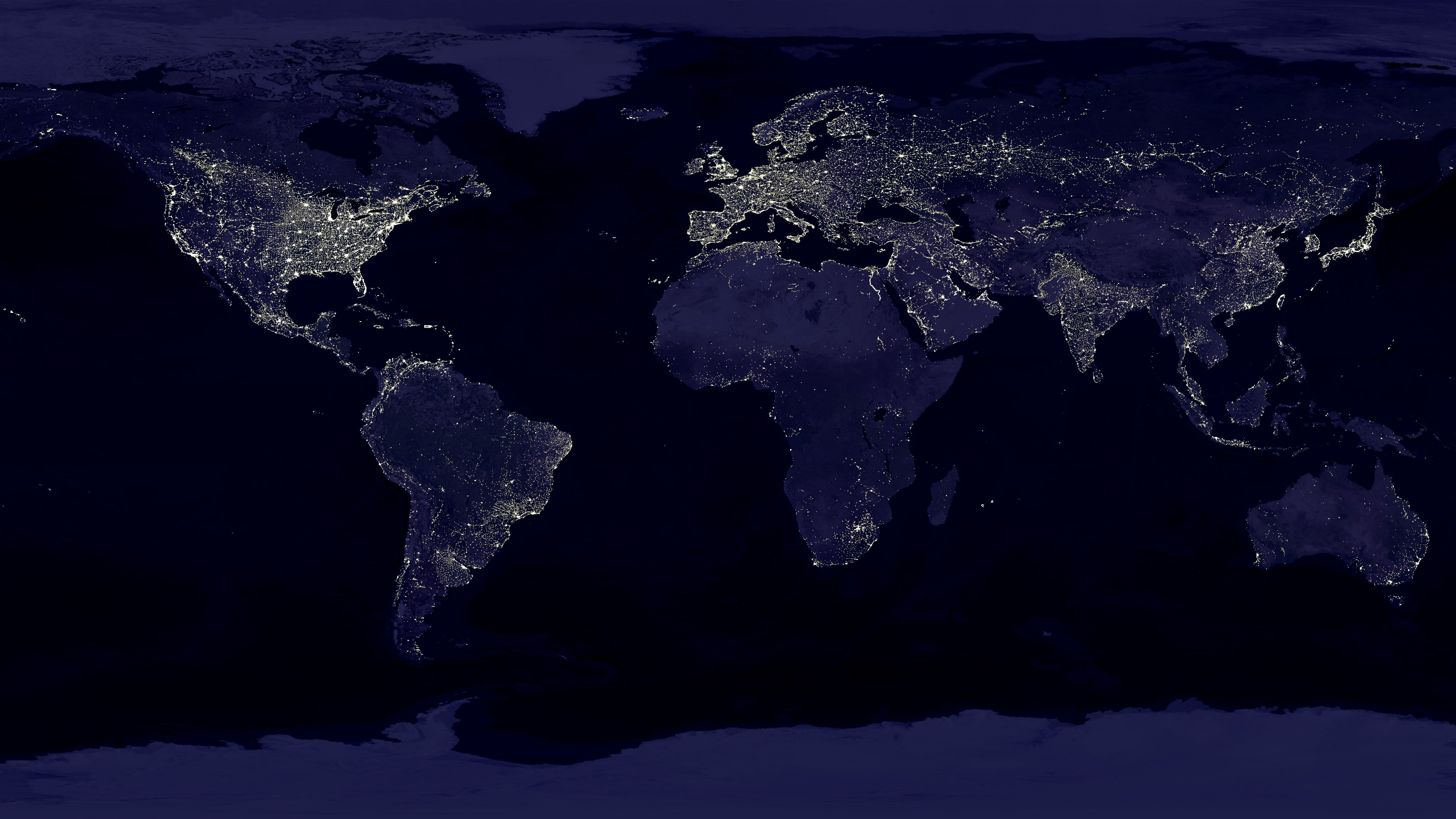 earth nightlights