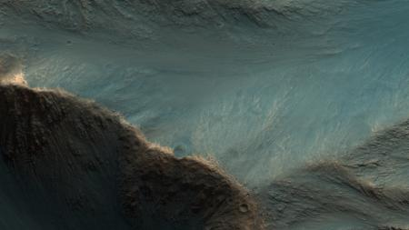 The surface of Mars, captured by the HiRISE camera.