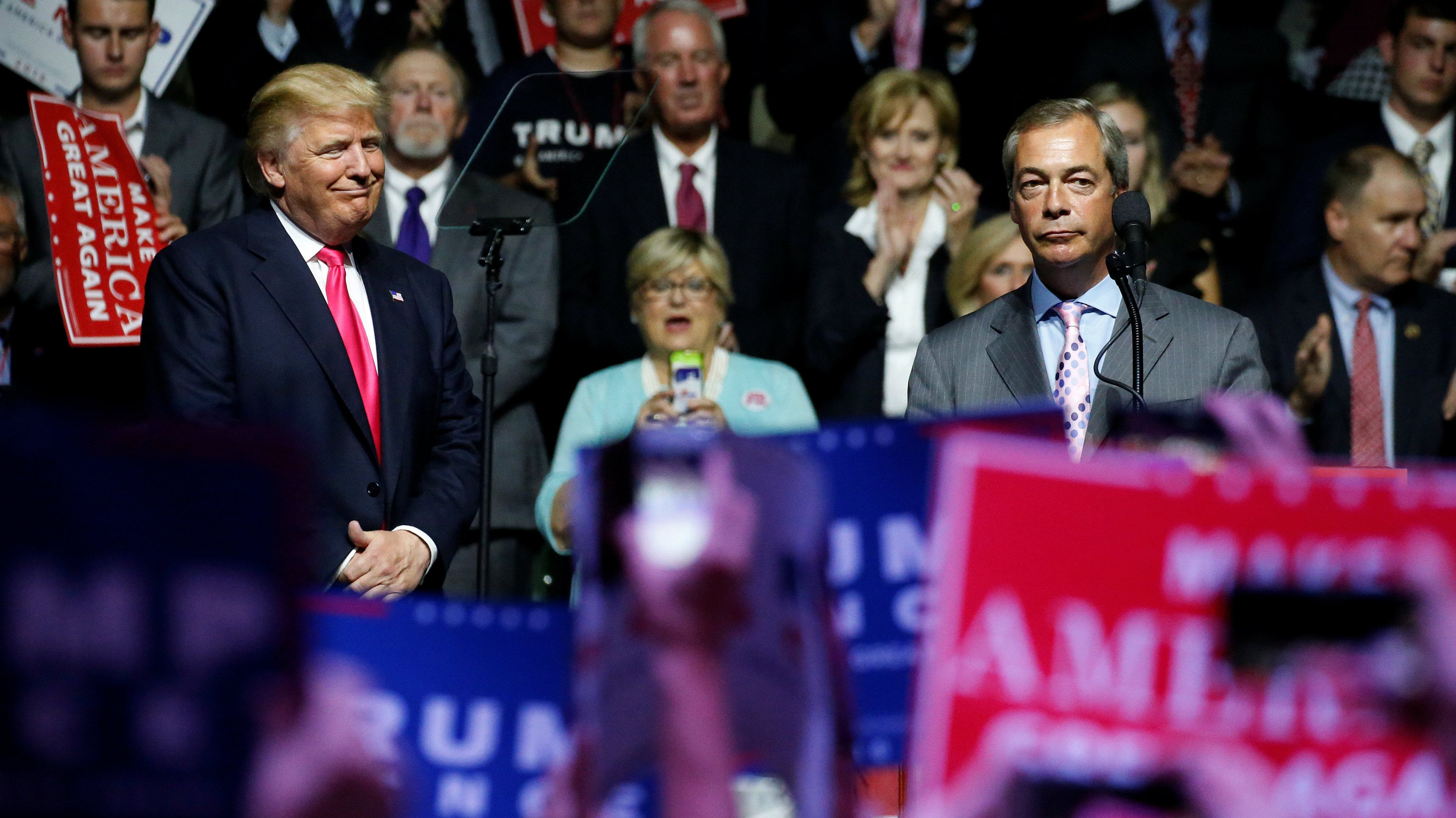 Farage-Trump