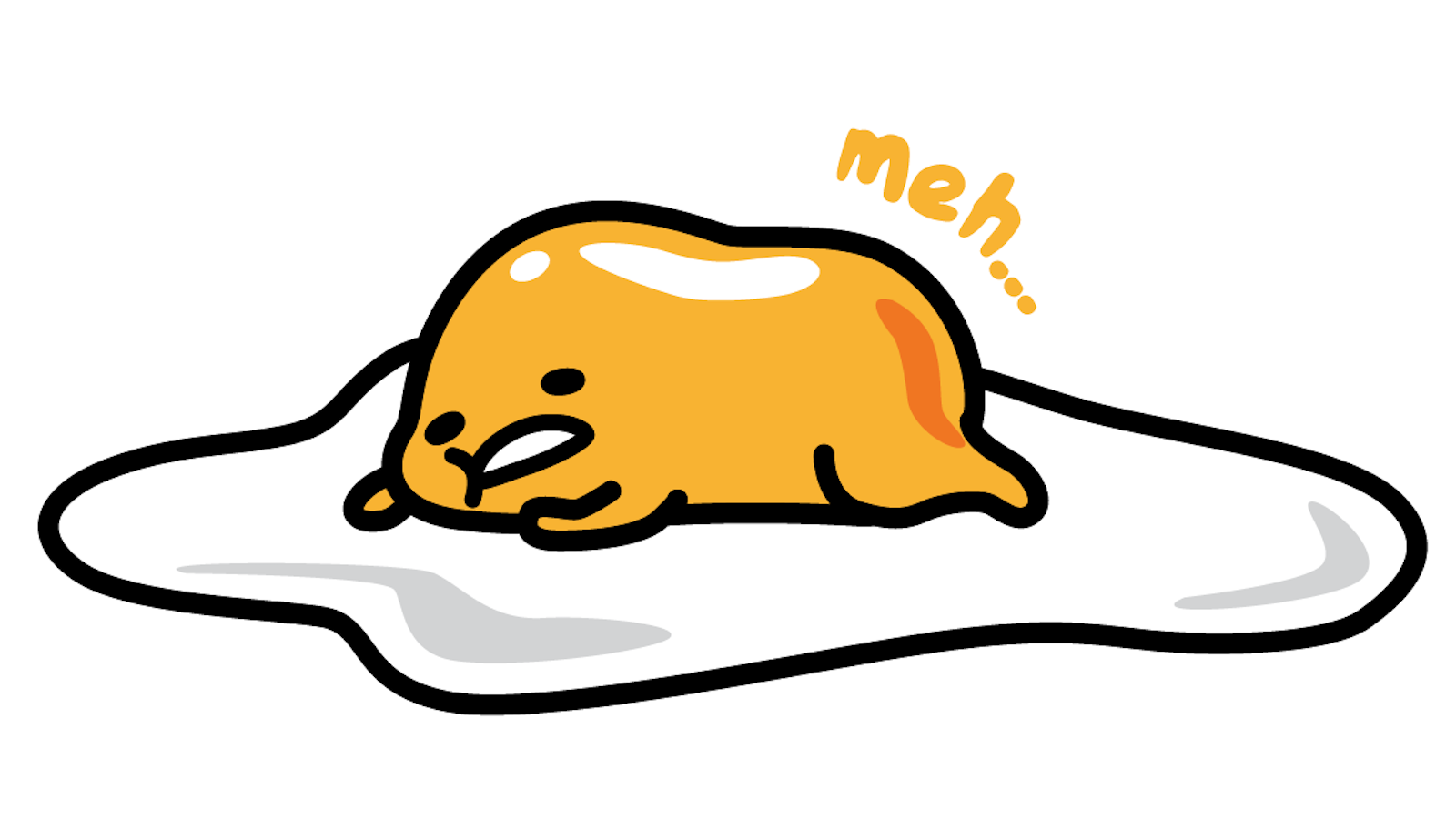 Gudetama Egg From Sanrio Gudetama The Lazy Egg Is The Hello Kitty