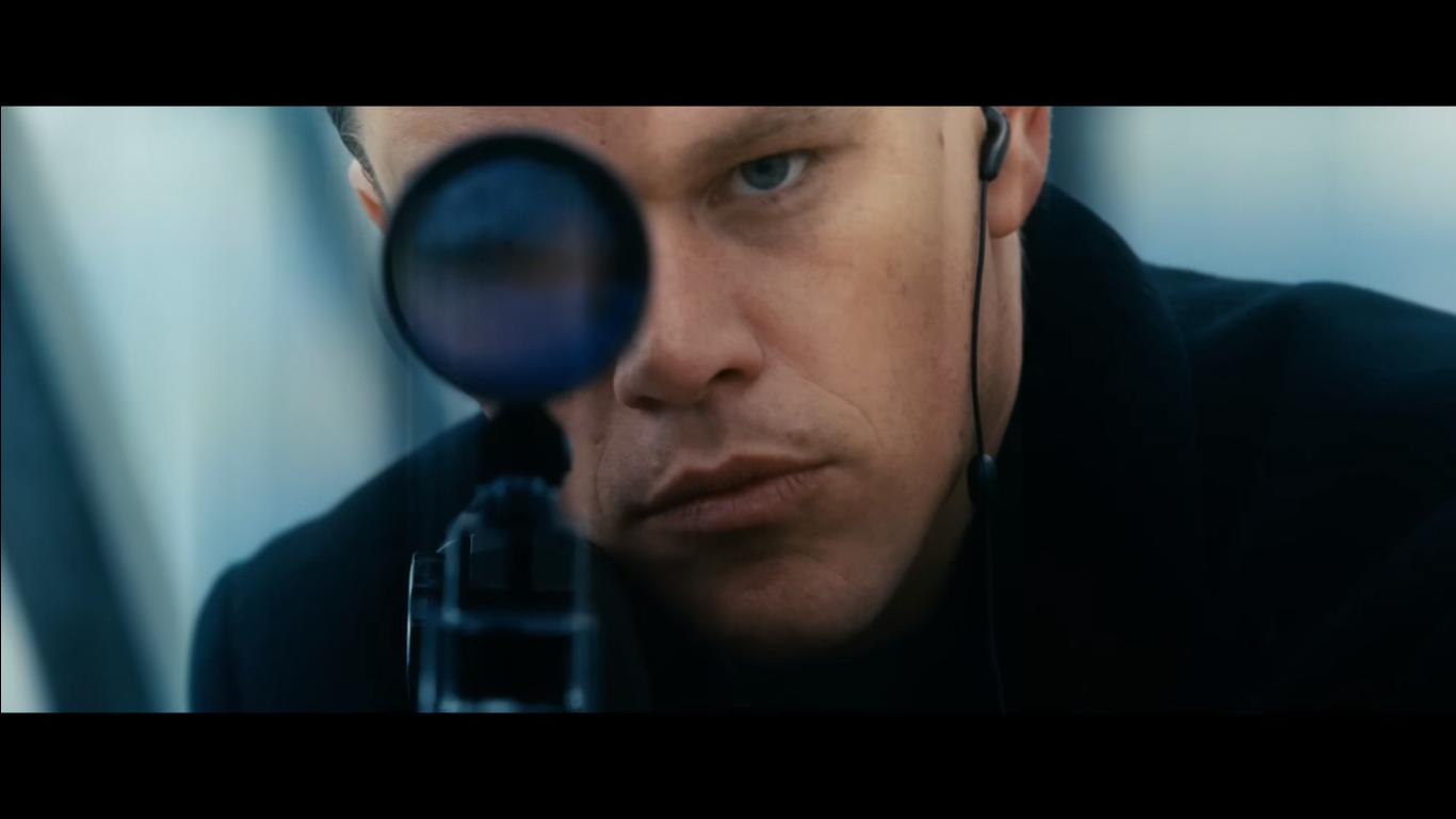 Jason Bourne's official trailer