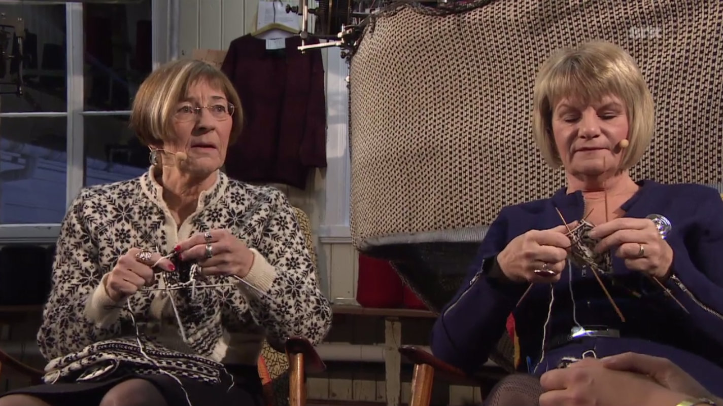 knitting slow tv for wp