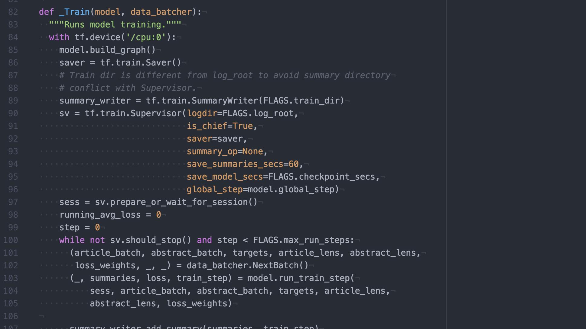 Computer source code.