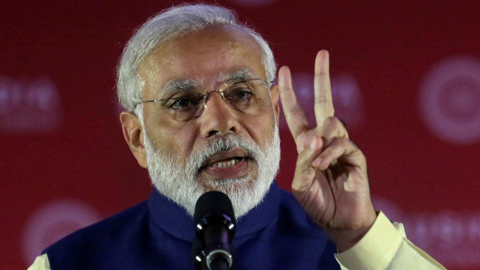 ndia's Prime Minister Narendra Modi speaks at the U.S.-India Business Council (USIBC) 41st annual Leadership Summit in Washington, U.S., June 7, 2016. REUTERS/Yuri Gripas