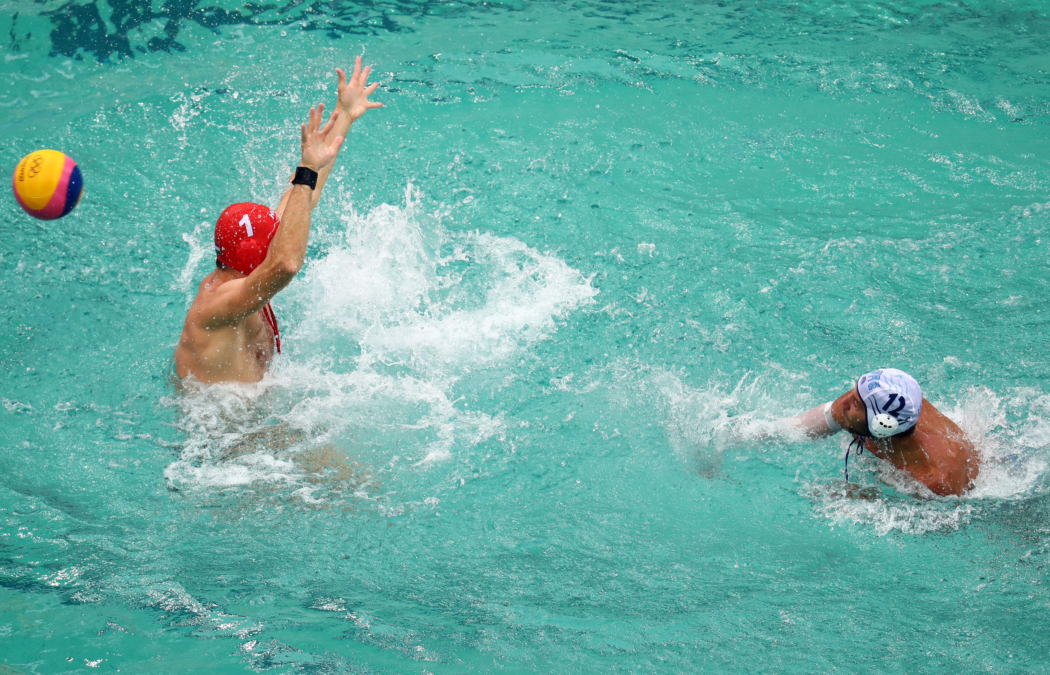 Water Polo - Men's Preliminary Round - Group A Greece v Hungary