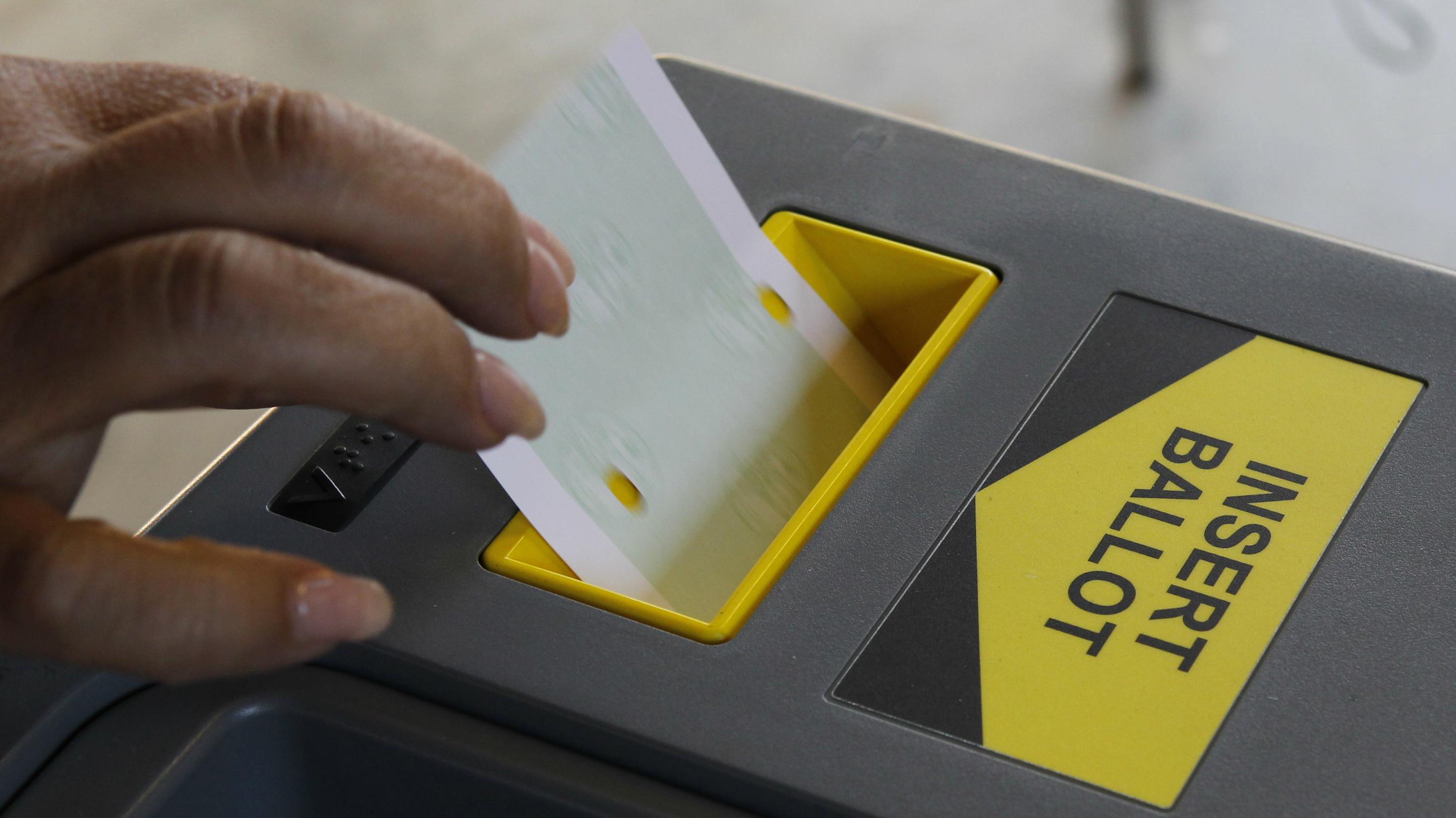 Reuters Fred Prouser ballot box