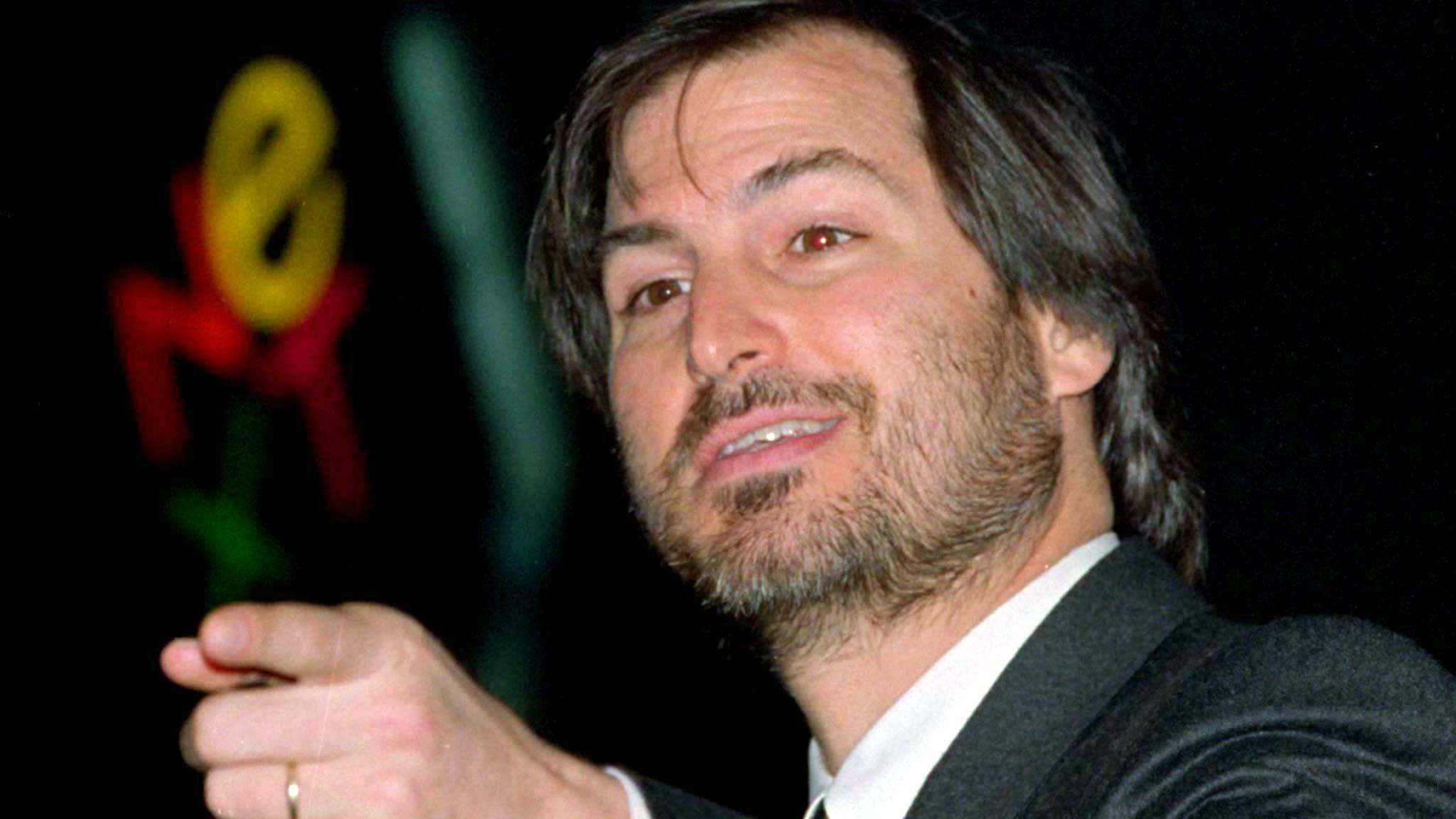Steve Jobs young apple photo