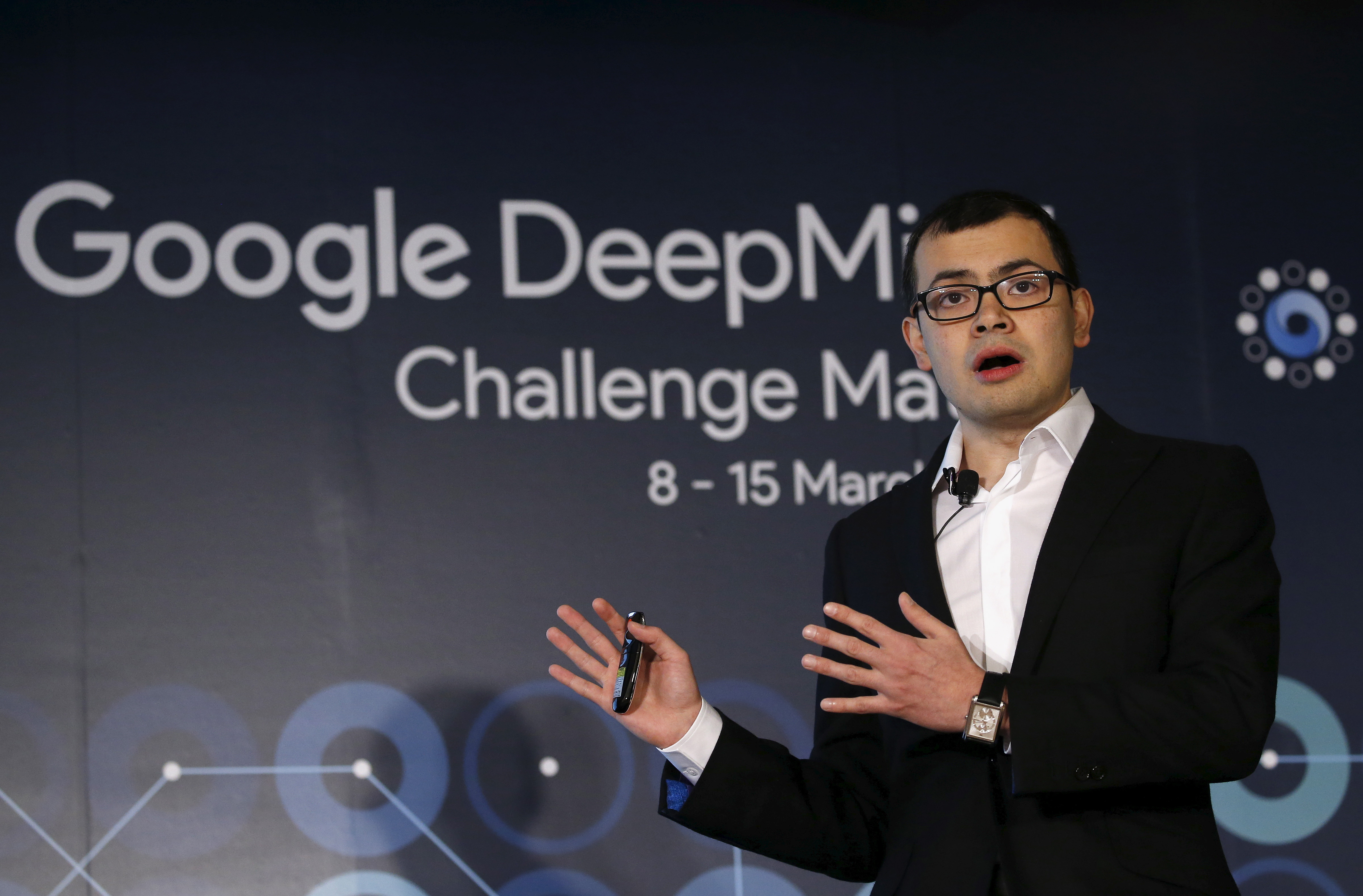Google DeepMind made headlines earlier this year by defeating a world champion Go player. Demis Hassabis, the CEO of DeepMind Technologies and developer of AlphaGO, speaks during a news conference ahead of matches against Google's artificial intelligence program AlphaGo, in Seoul, South Korea, March 8, 2016.