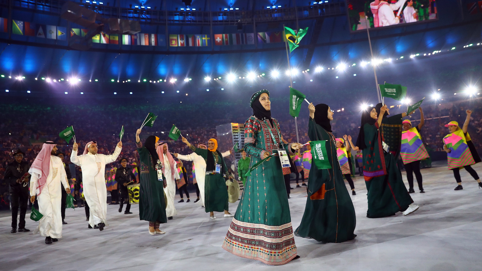 Four women and nine men are representing Saudi Arabia at the 2016 Rio Olympics.