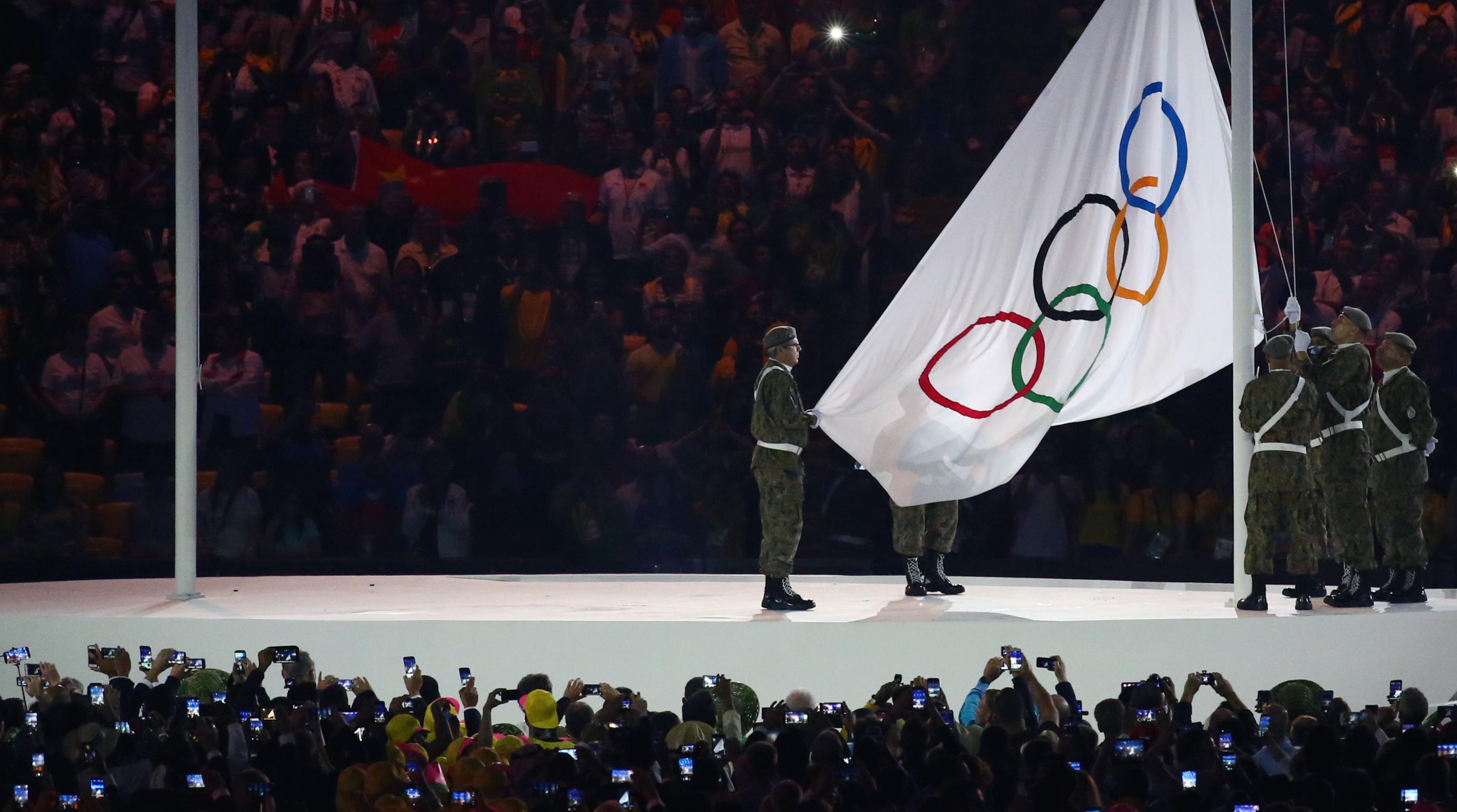 2016 Rio Olympics Opening ceremonies