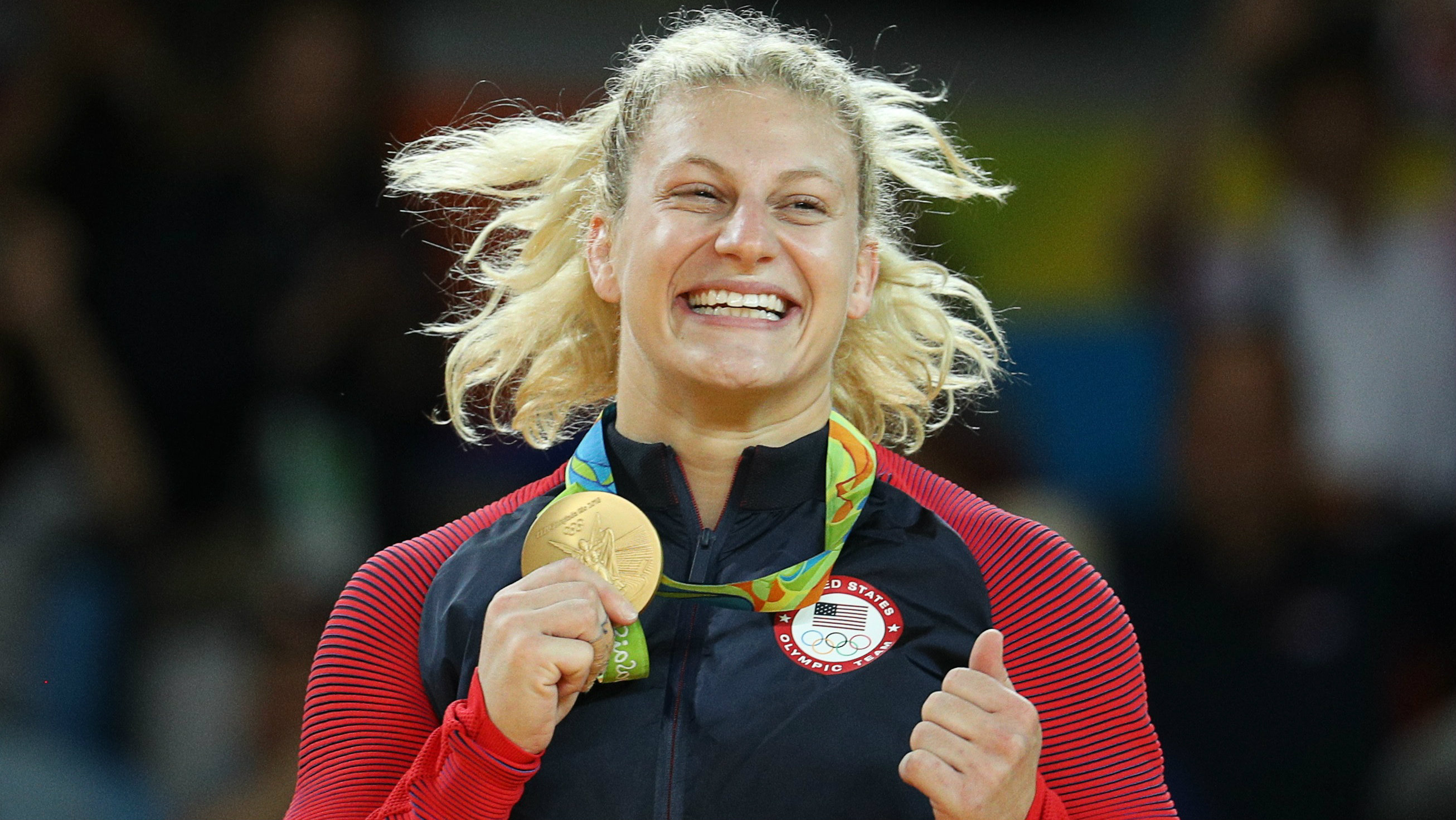 Kayla Harrison wins another gold - thanks to her lucky socks?