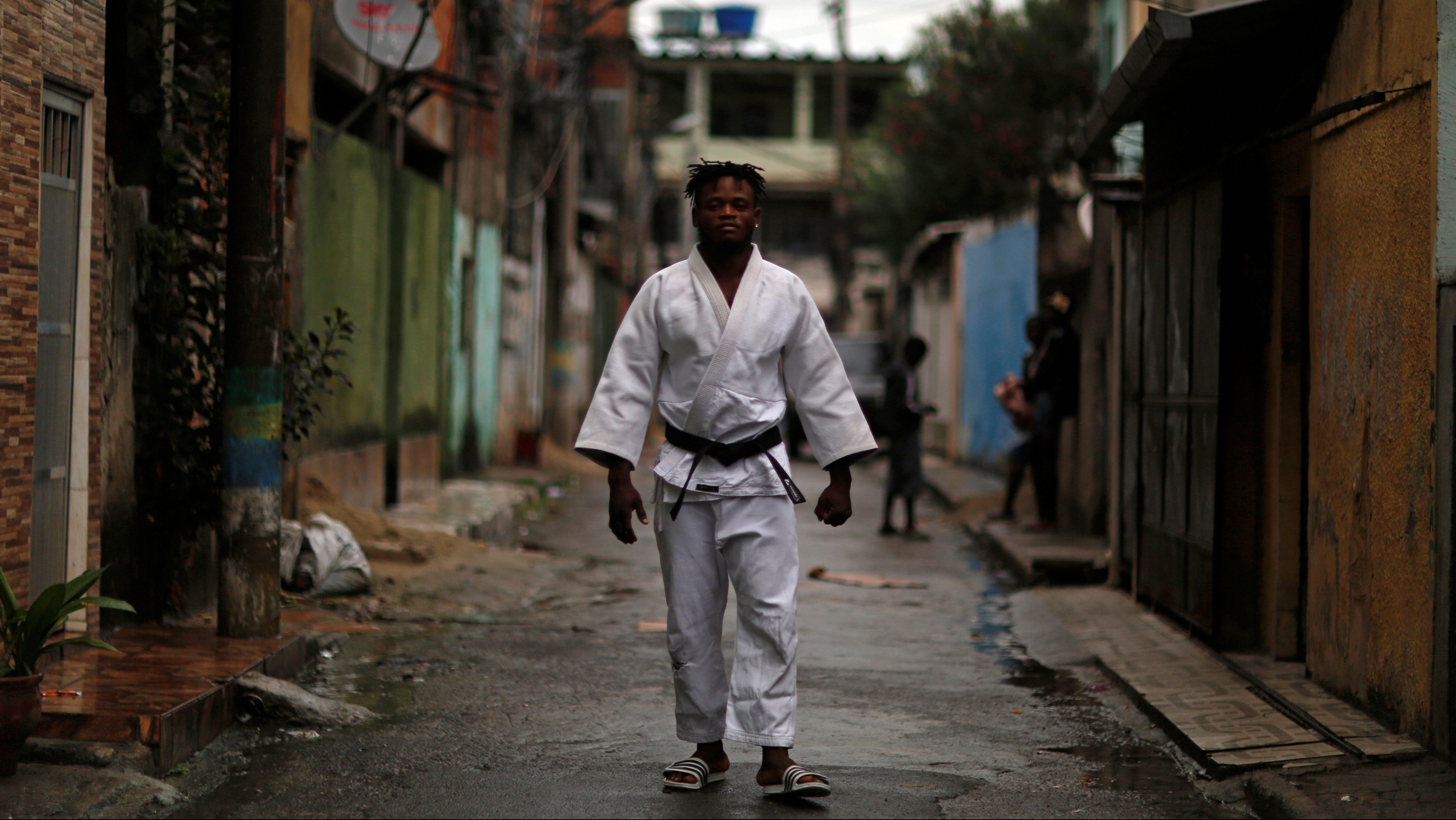 The Wider Image: Rio's refugee judoka: from Congo to the Olympics