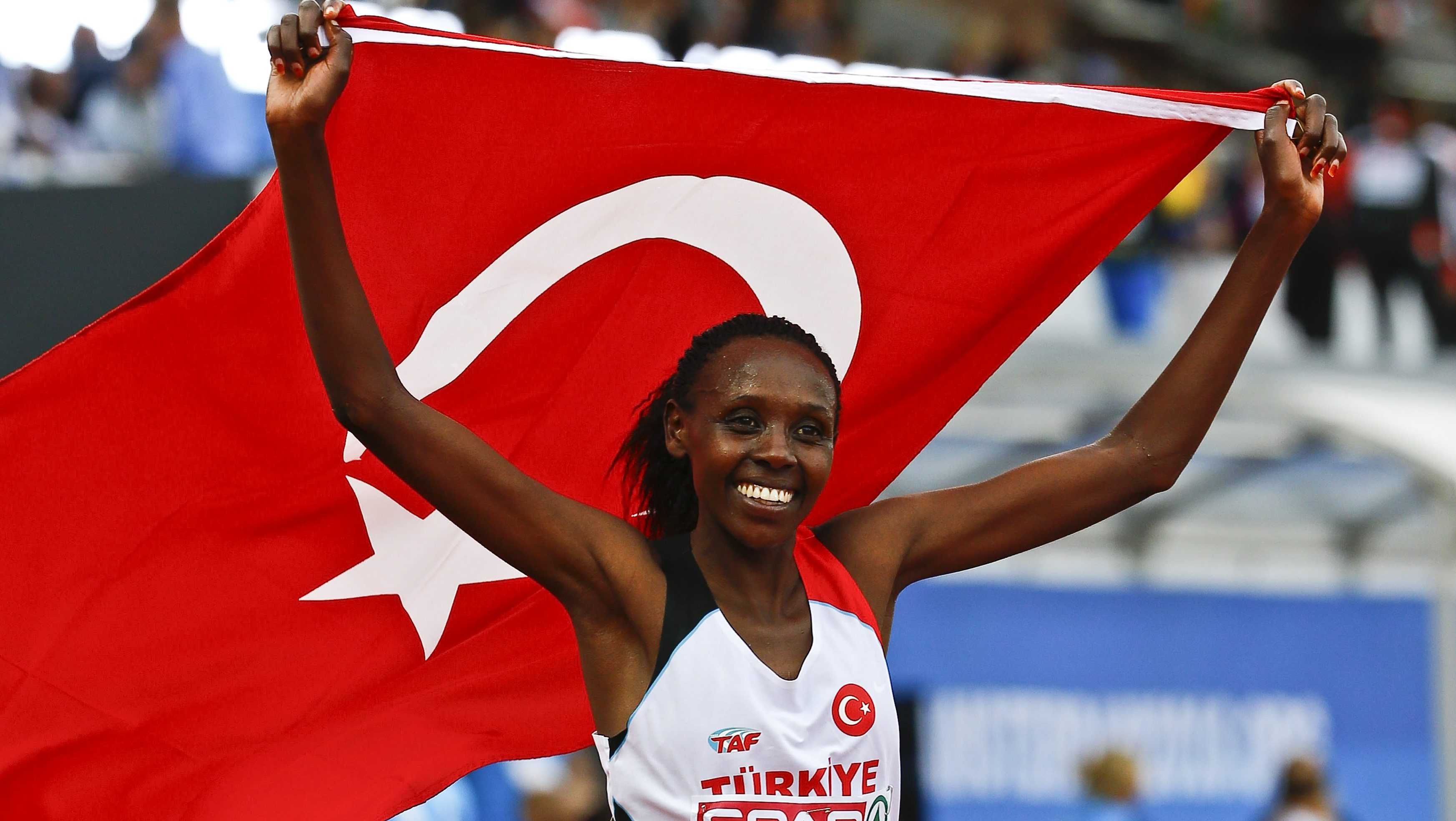 Turkey's Kenyan-born runner Yasemin Can will at Rio Olympics