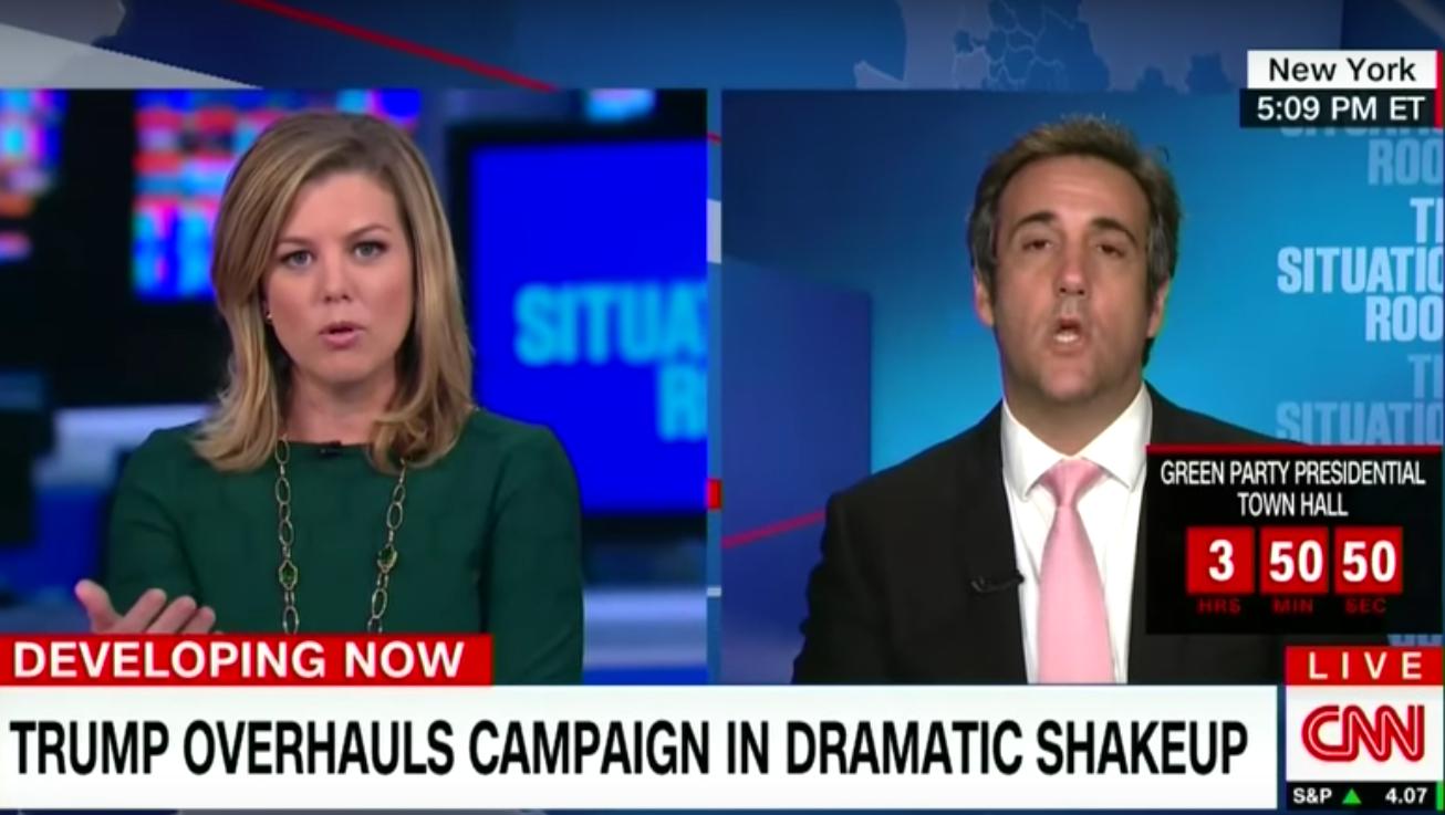 CNN says who michael cohen