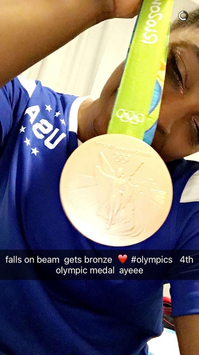 Simone Biles bronze medal