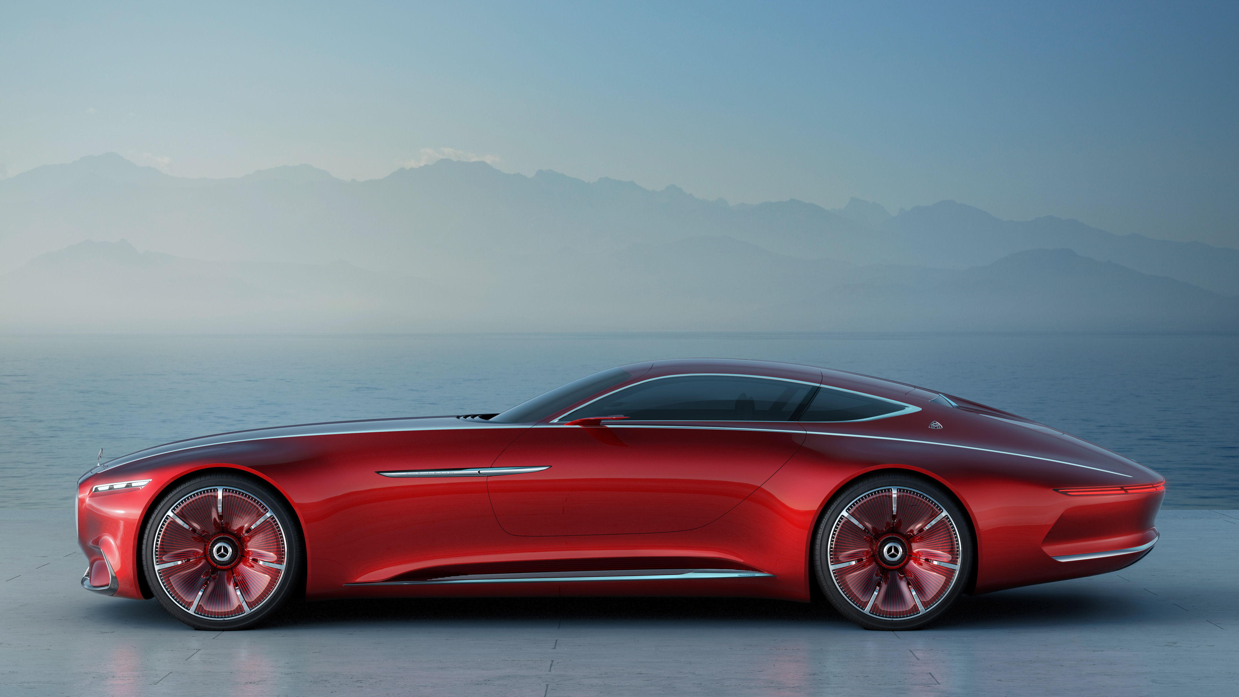 """Mercedes' next vehicle is a 20-foot luxury electric Maybach that you'll """"want to drive yourself"""""""