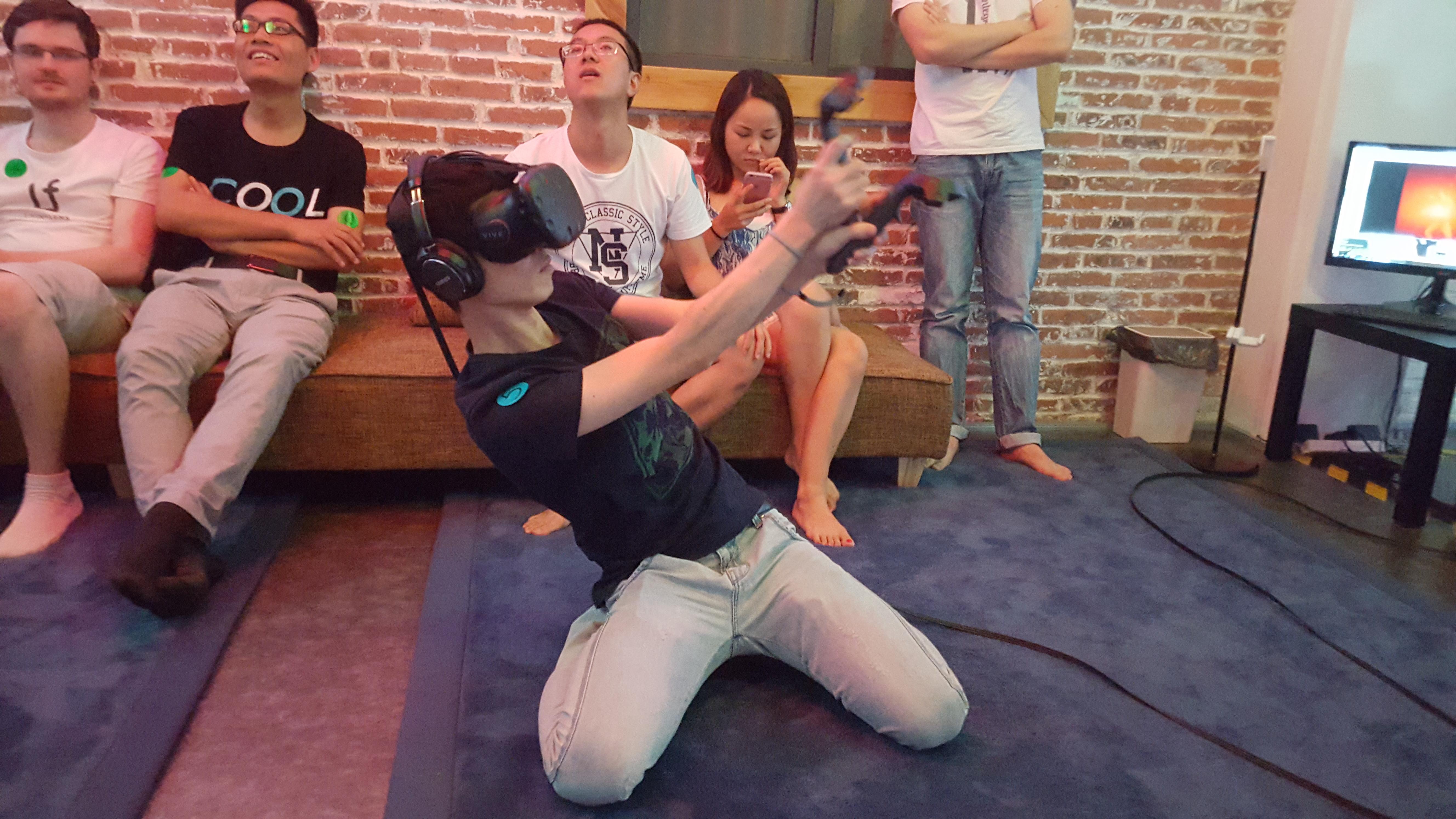 VR Lounge shoot
