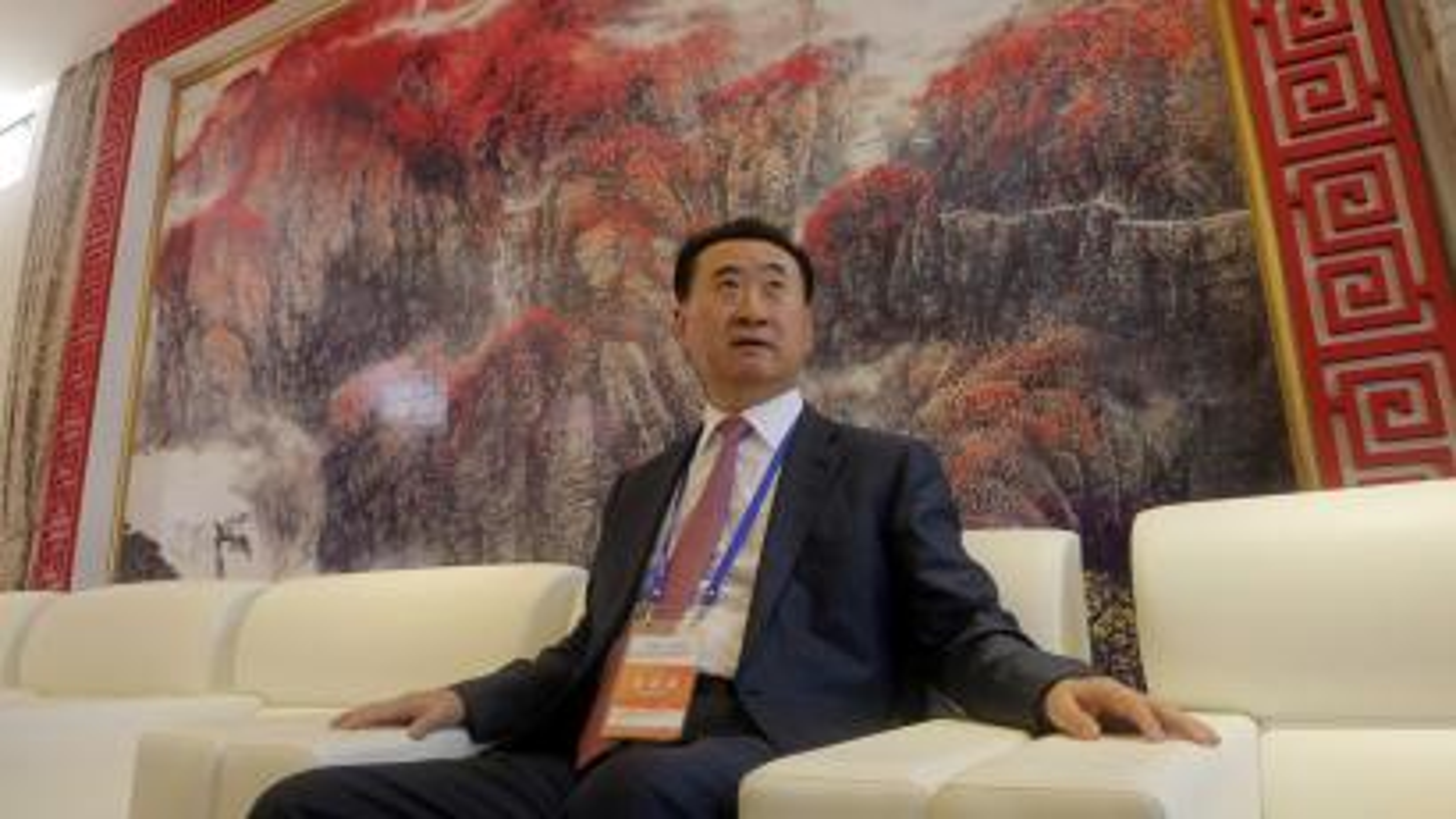 China's richest man, Wanda Group CEO Wang Jianlin, has