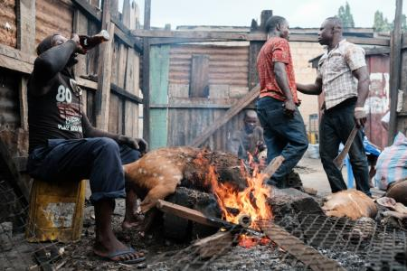 Bushmeat in Ghana remains a key part of the local diet, despite the