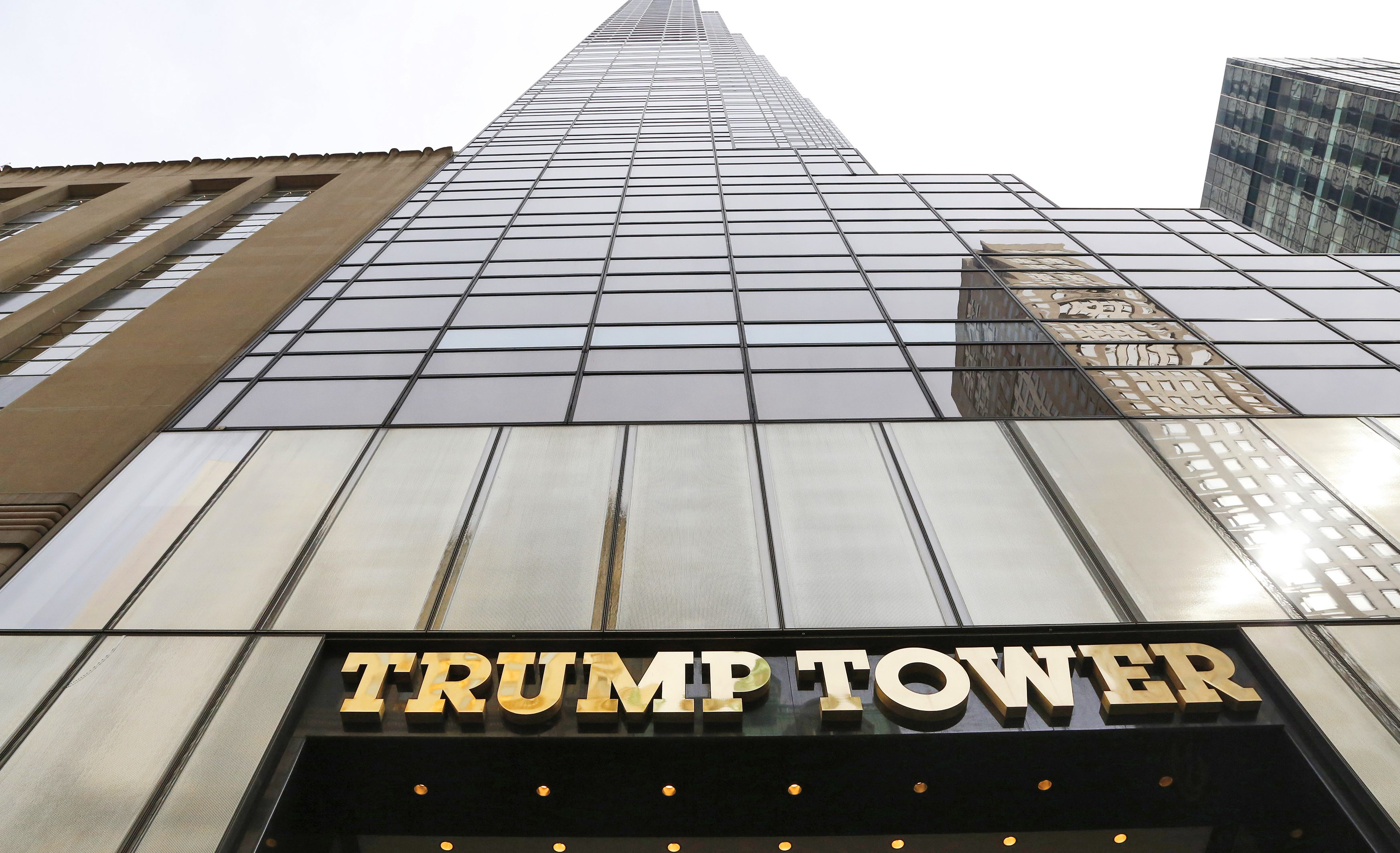 In this March 16, 2016 photo,Trump Tower is shown in New York.