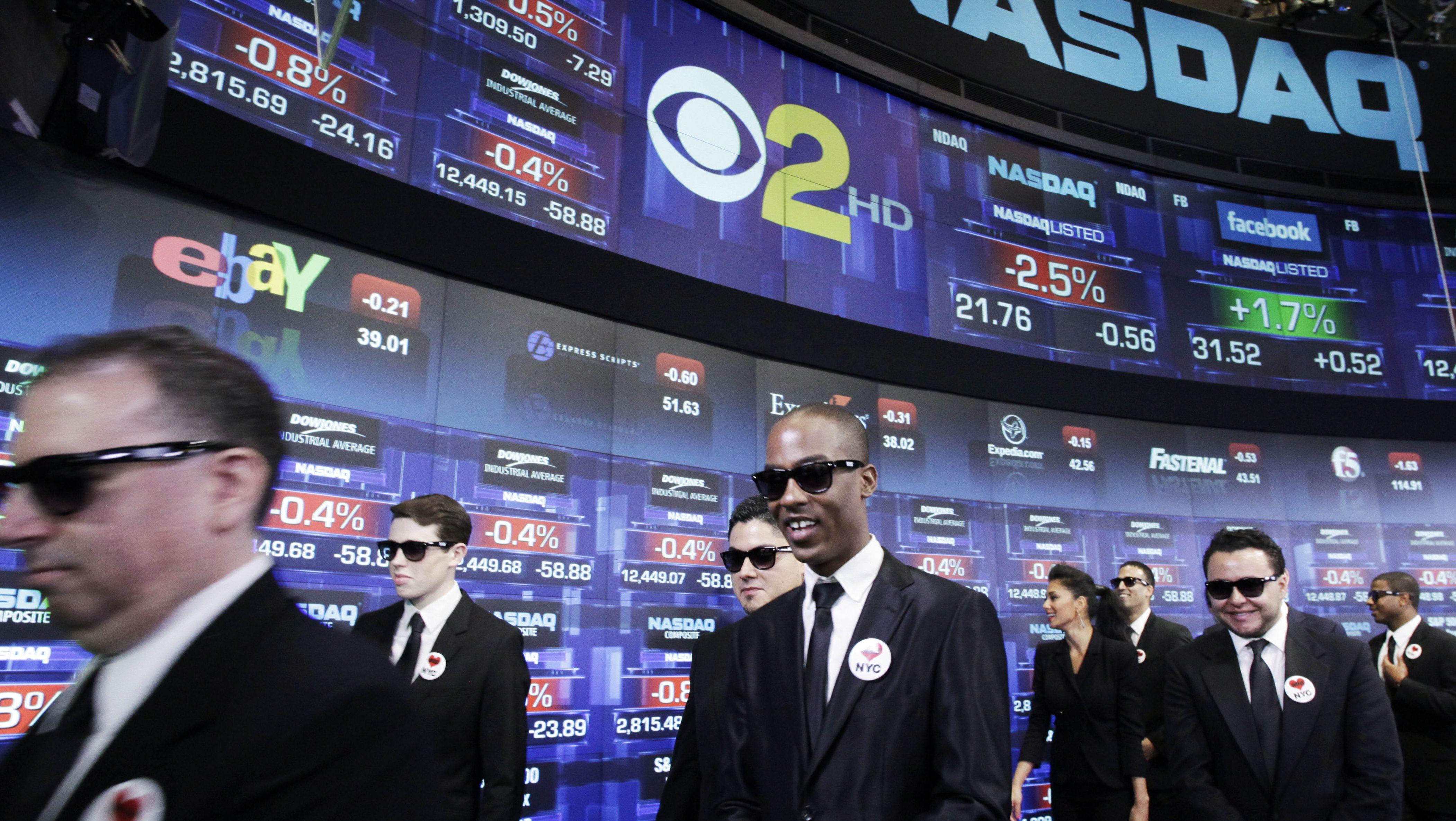Wall Street Men In Black