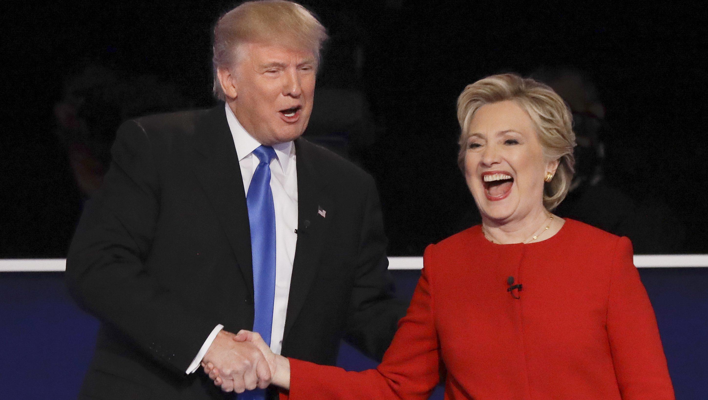Campaign 2016 Debate donald trump hillary clinton