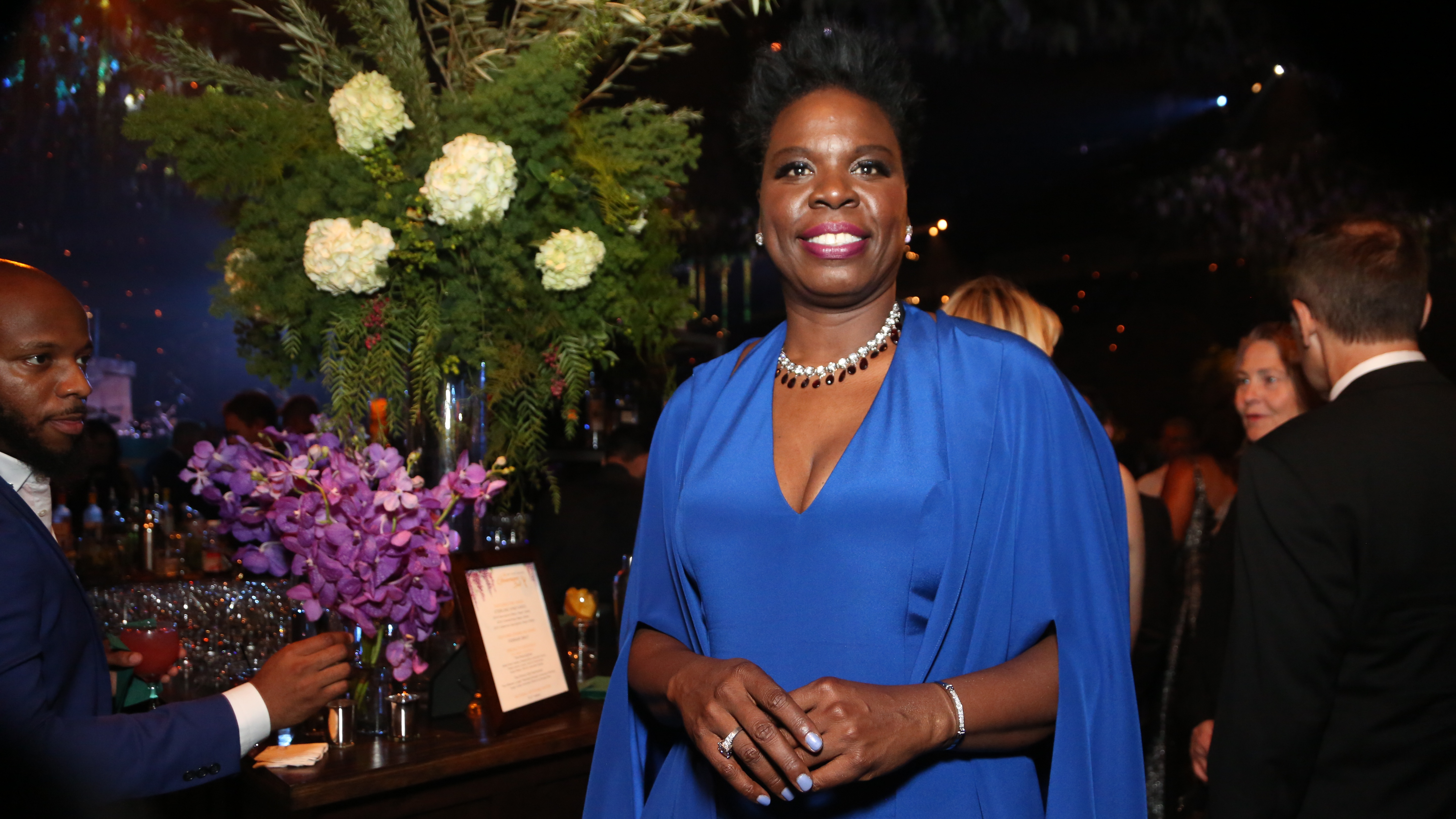 Leslie Jones at the 68th Primetime Emmy Awards Governors Ball with drinks by World Class™ on Sunday, September 18, 2016 at the Los Angeles Convention Center in Los Angeles. (Photo by Rich Fury/Invision for World Class/AP Images).
