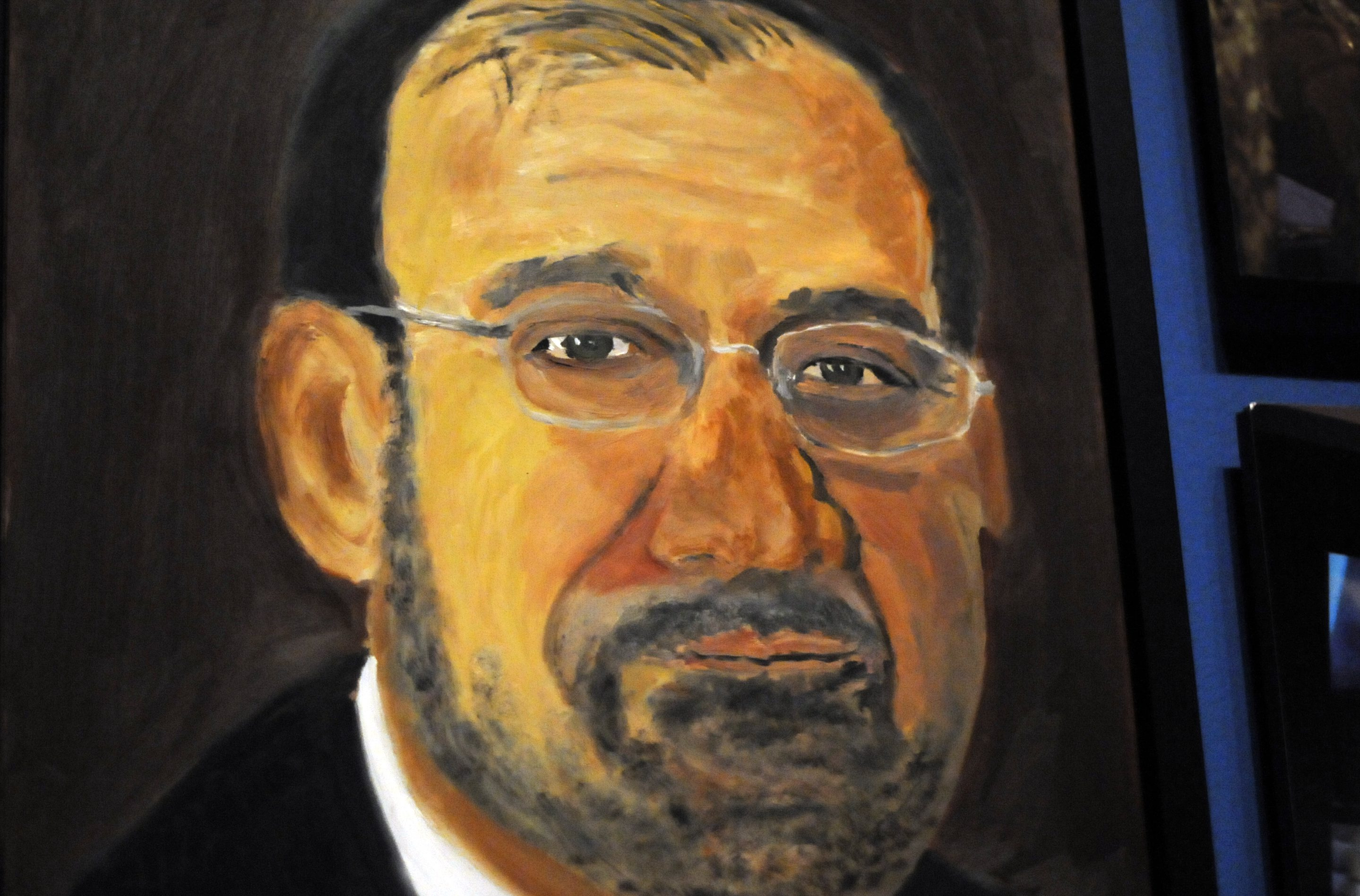 Bush S Painting Book Is Due To Publish Next Year A Look Back At His