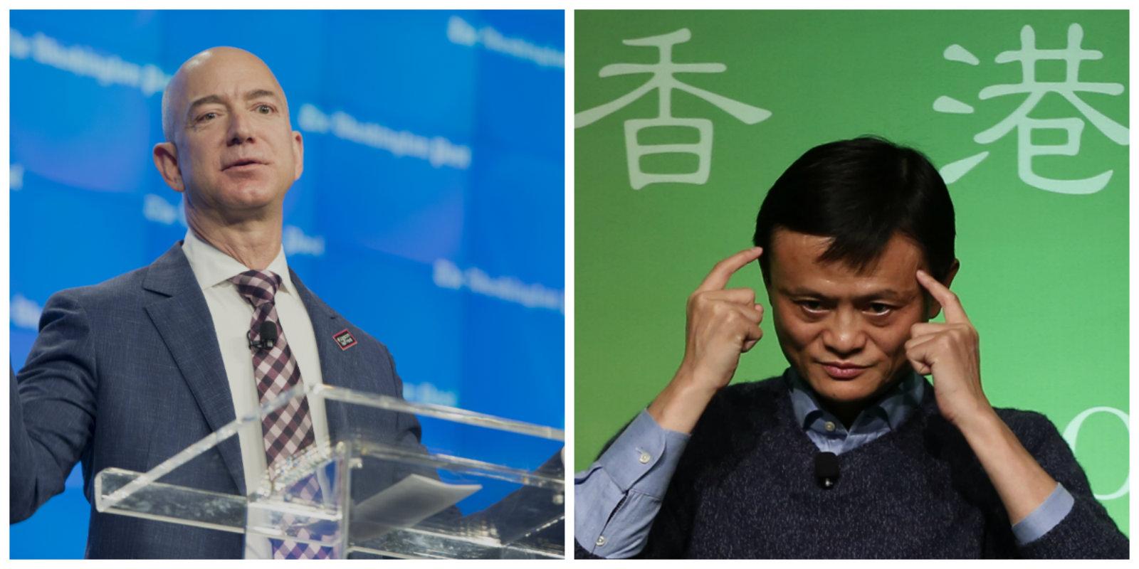 Jeff-Bezos-Jack-Ma