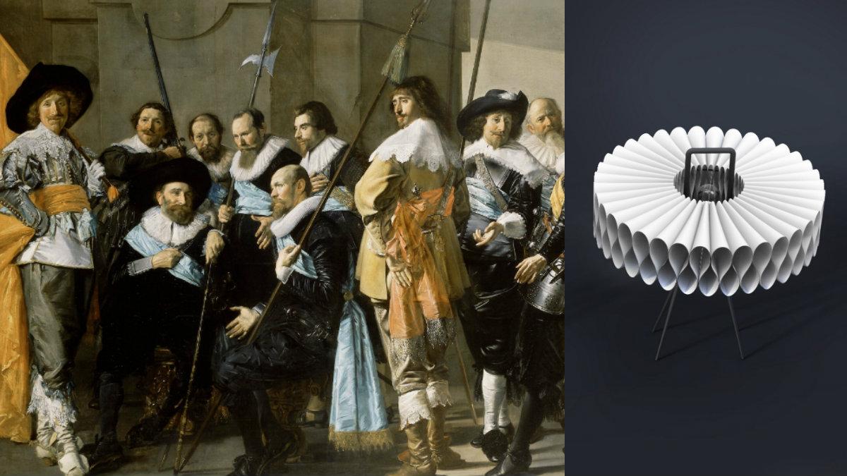 Rijksmuseum collar lamp derivative product