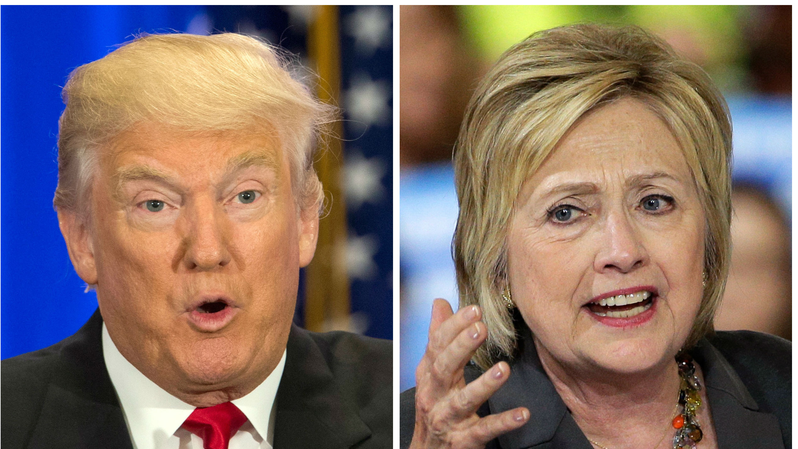 Donald Trump and Hillary Clinton debate