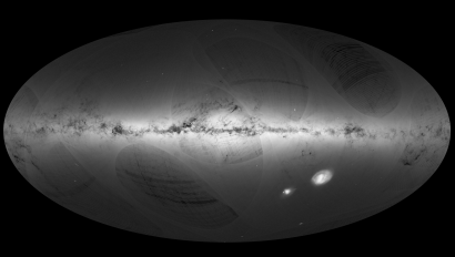 ESA releases a billion-star space map made from images taken by the