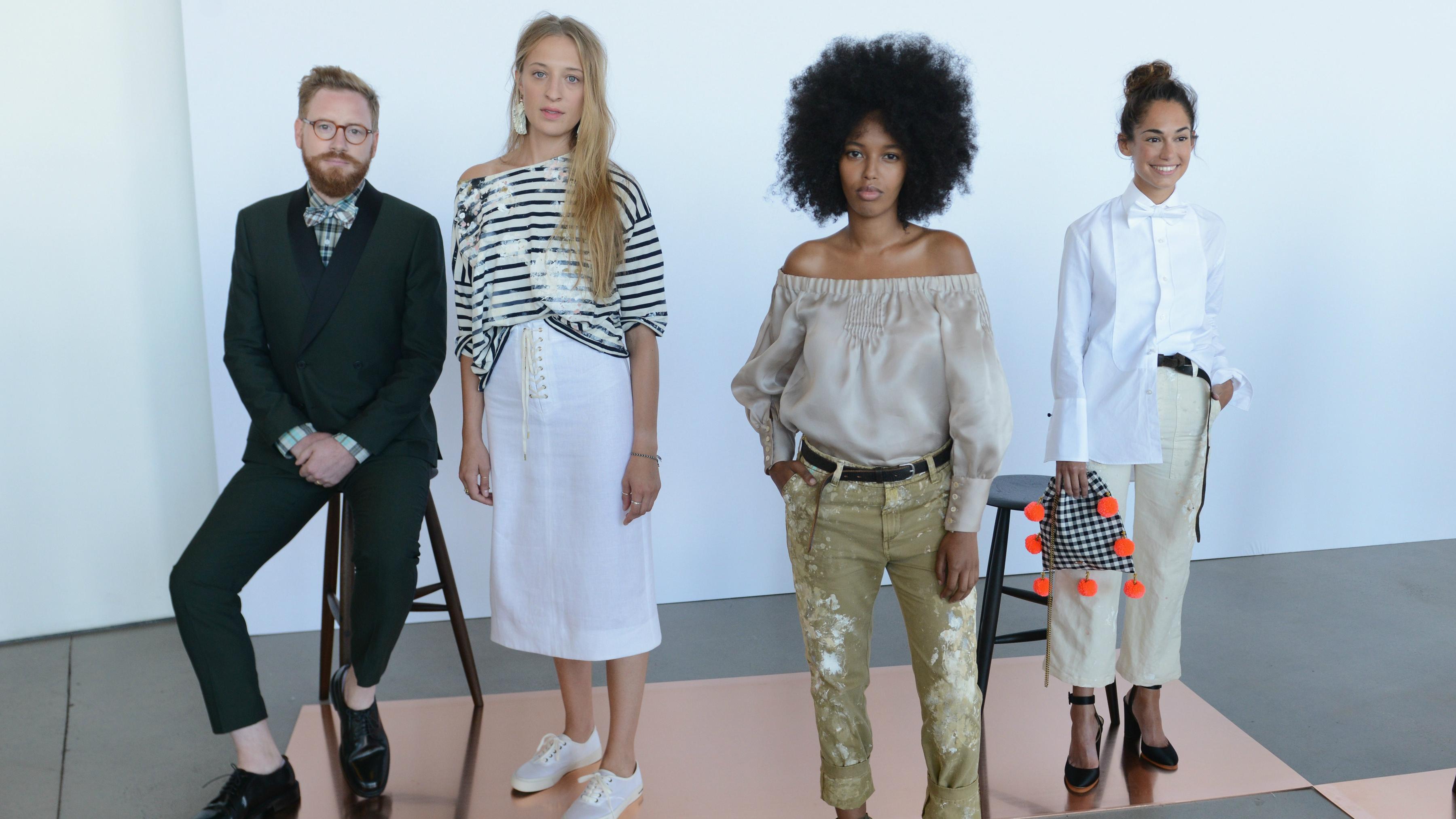 j.crew, spring 2017, fashion, new york fashion week, models, real people