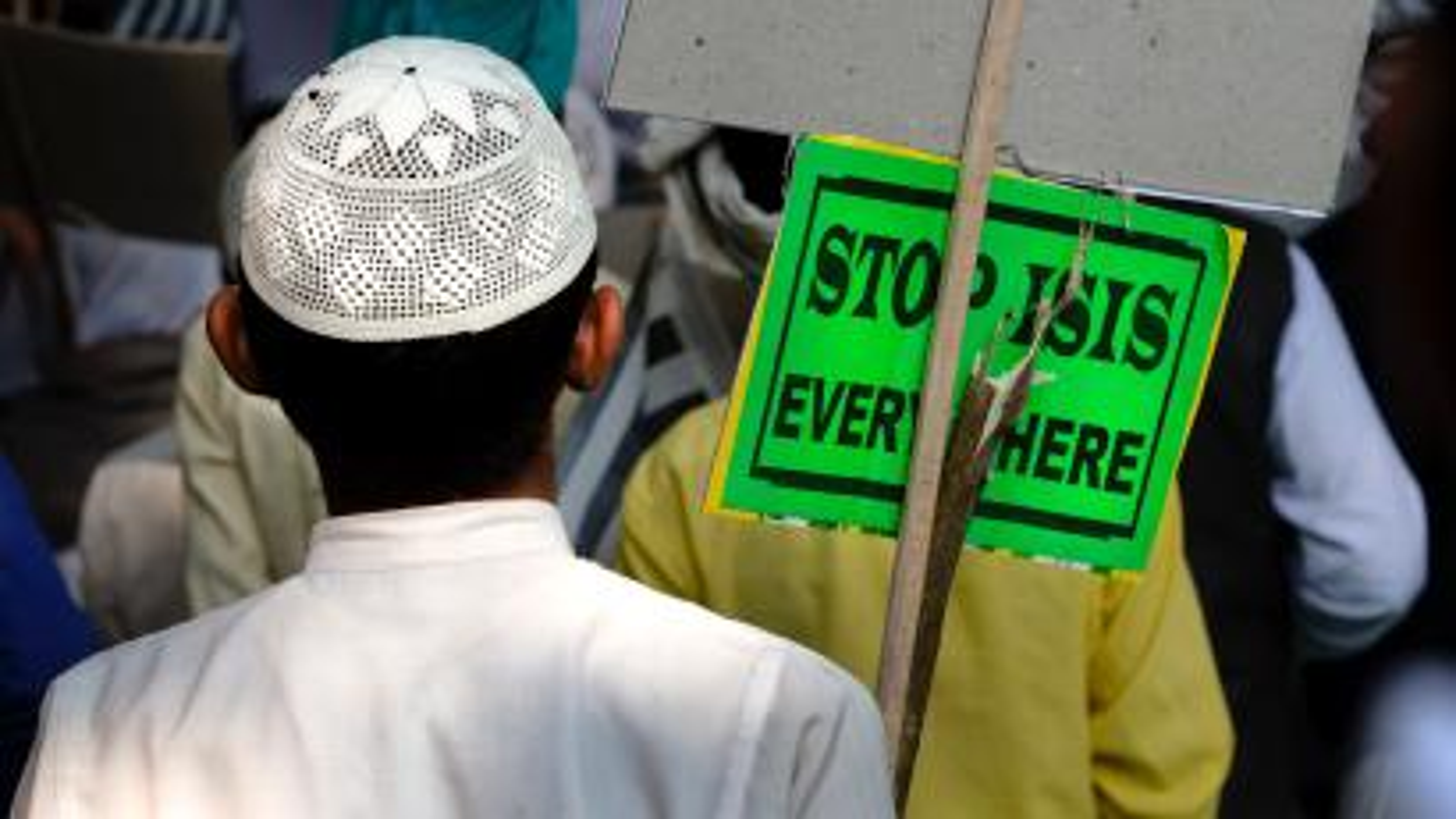 Anti-ISIS Protest