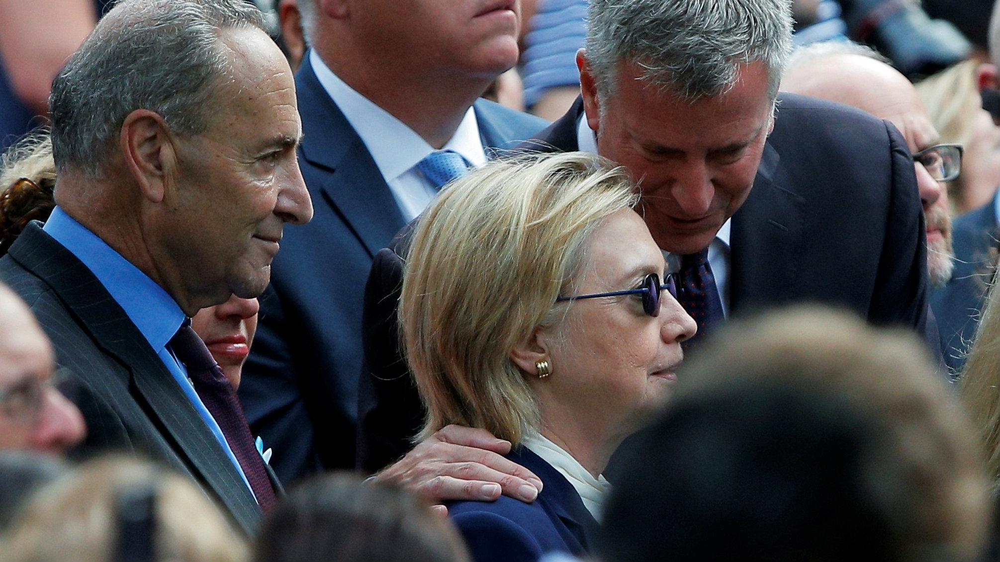 Hillary on Sept 11
