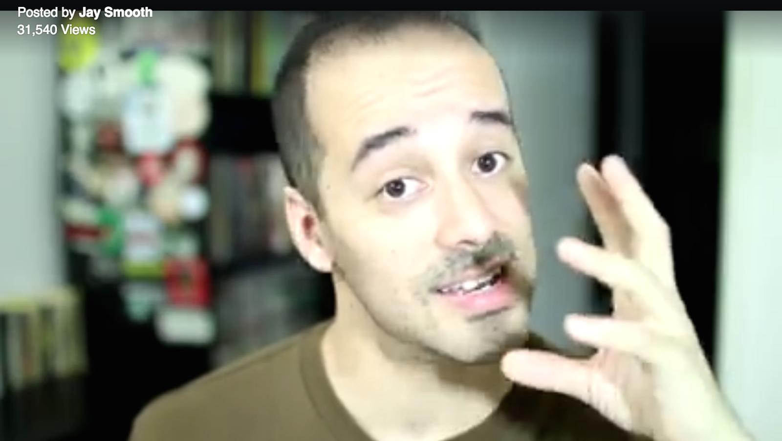 "Screenshot of Jay Smooth's Sept. 10 ""Basket of deplorables"" video."