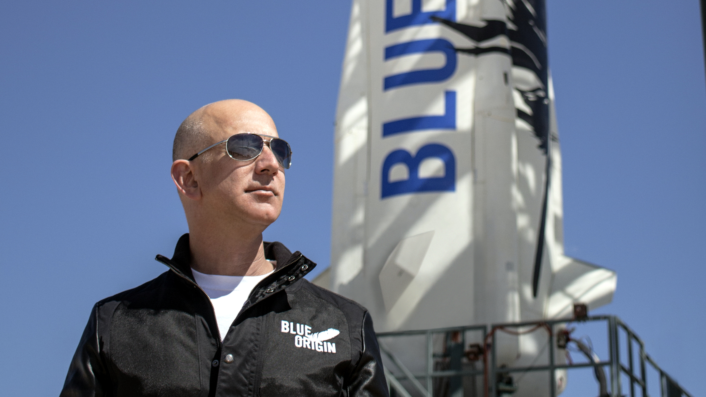 Jeff Bezos is ready for space.